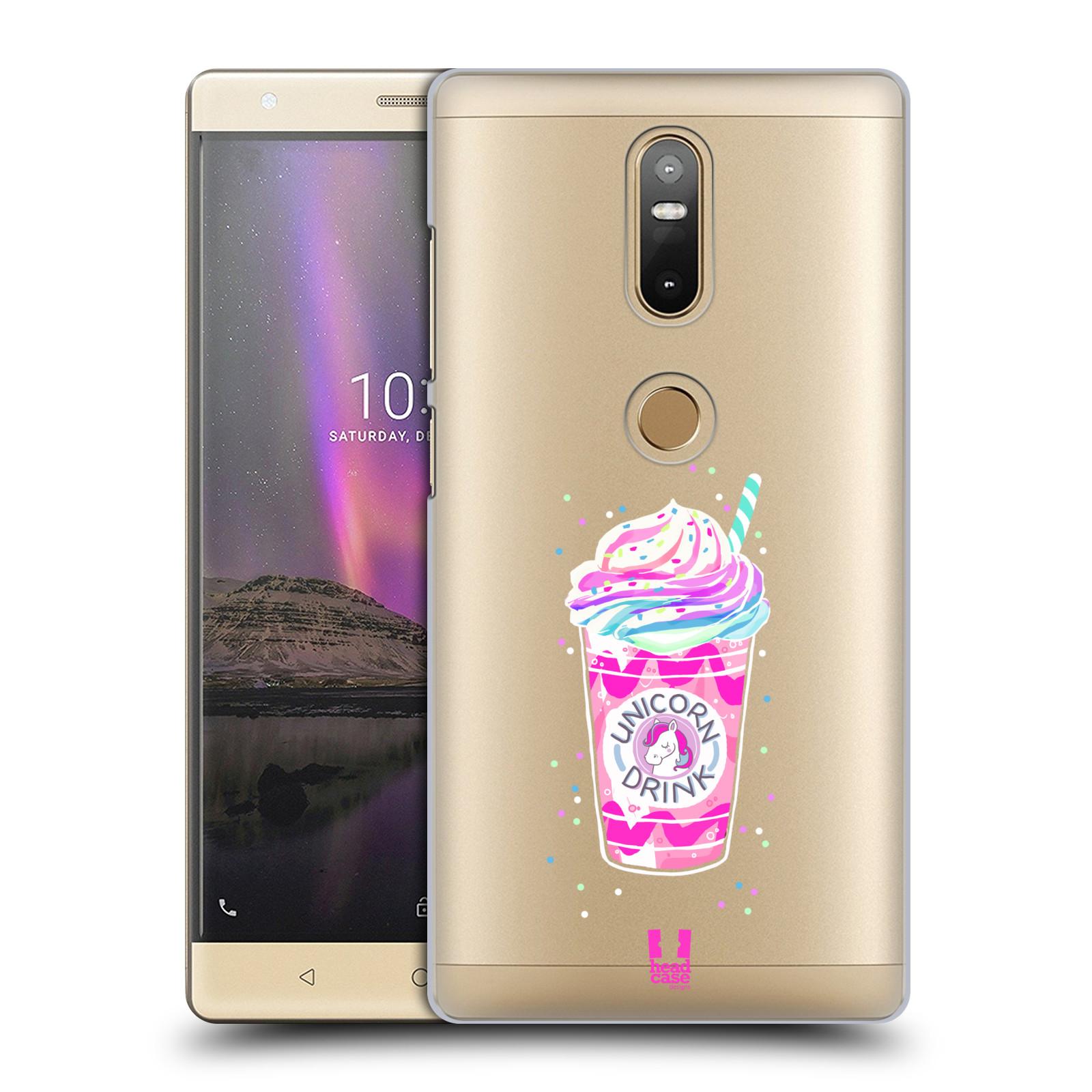 Plastové pouzdro na mobil Lenovo Phab 2 Plus - Head Case - Unicorn drink