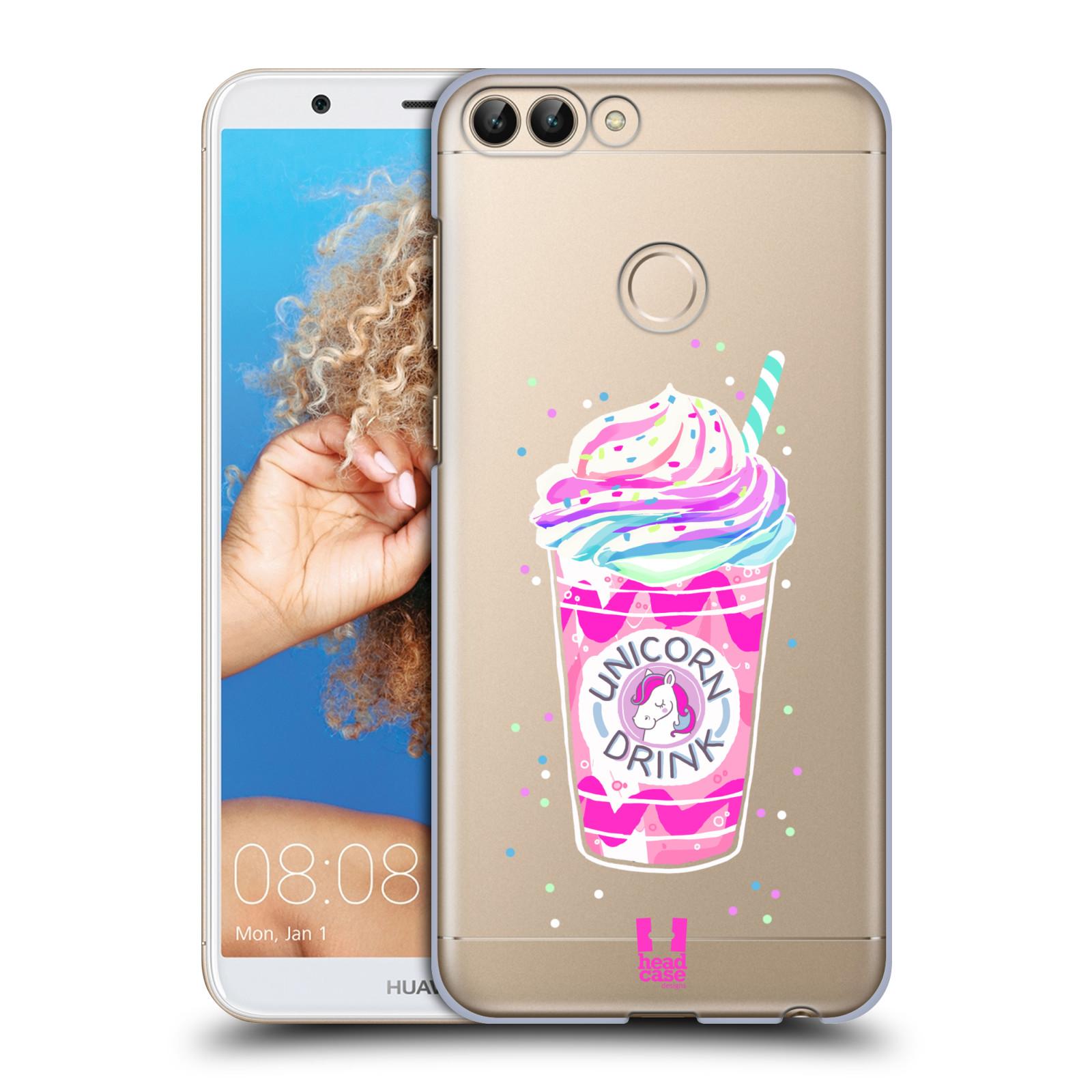 Plastové pouzdro na mobil Huawei P Smart - Head Case - Unicorn drink