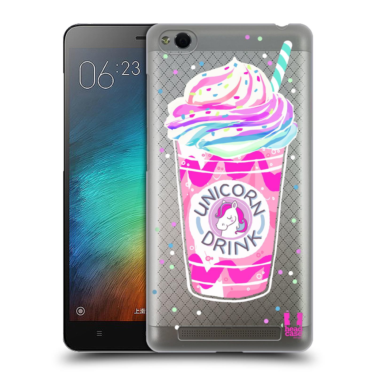 Plastové pouzdro na mobil Xiaomi Redmi 3 - Head Case - Unicorn drink