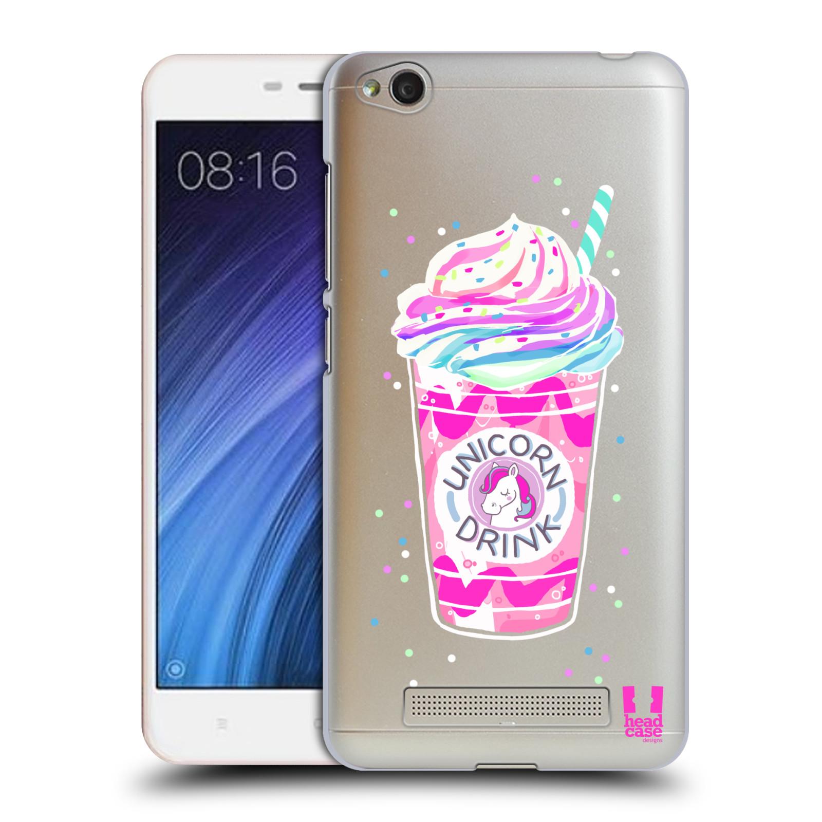 Plastové pouzdro na mobil Xiaomi Redmi 4A - Head Case - Unicorn drink