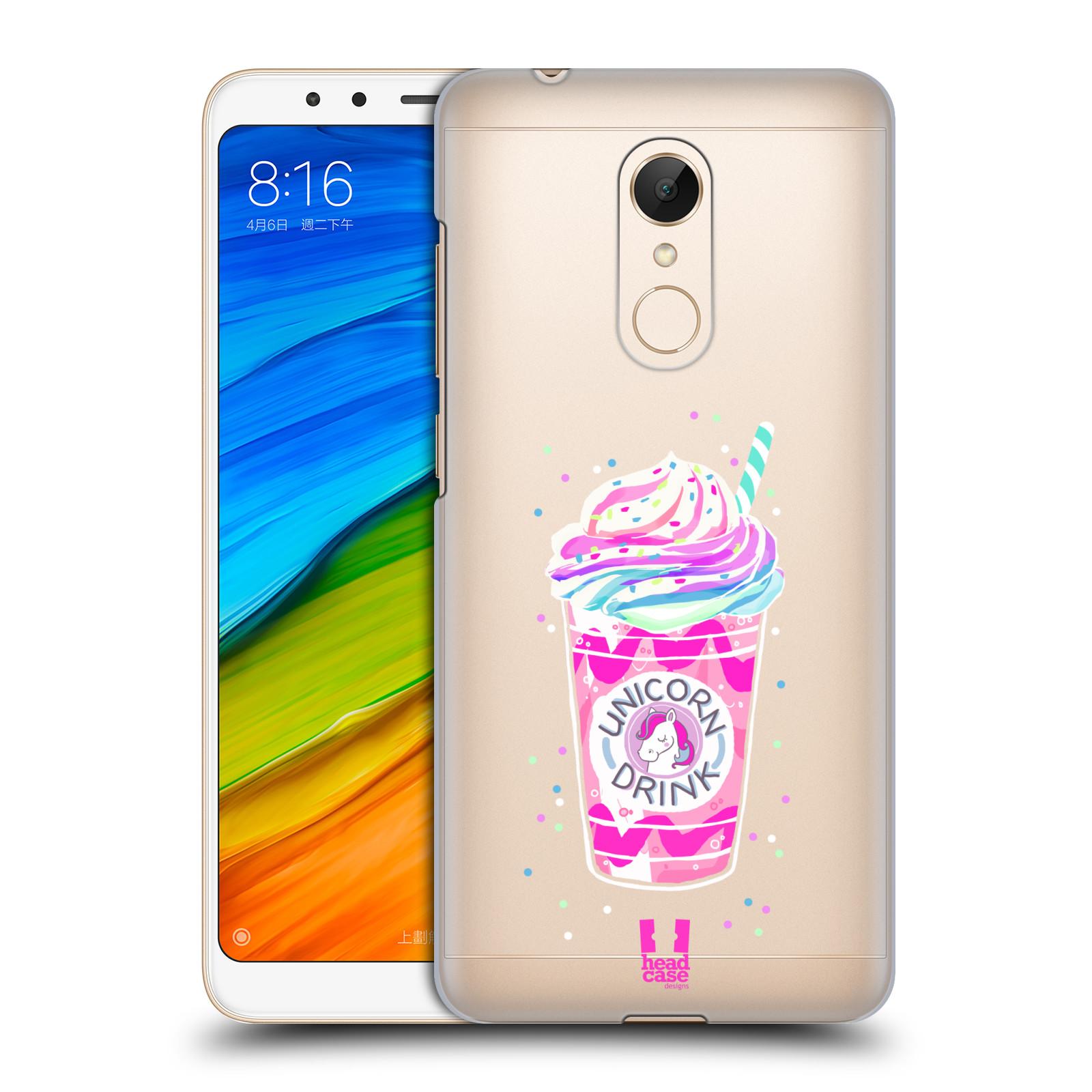 Plastové pouzdro na mobil Xiaomi Redmi 5 - Head Case - Unicorn drink