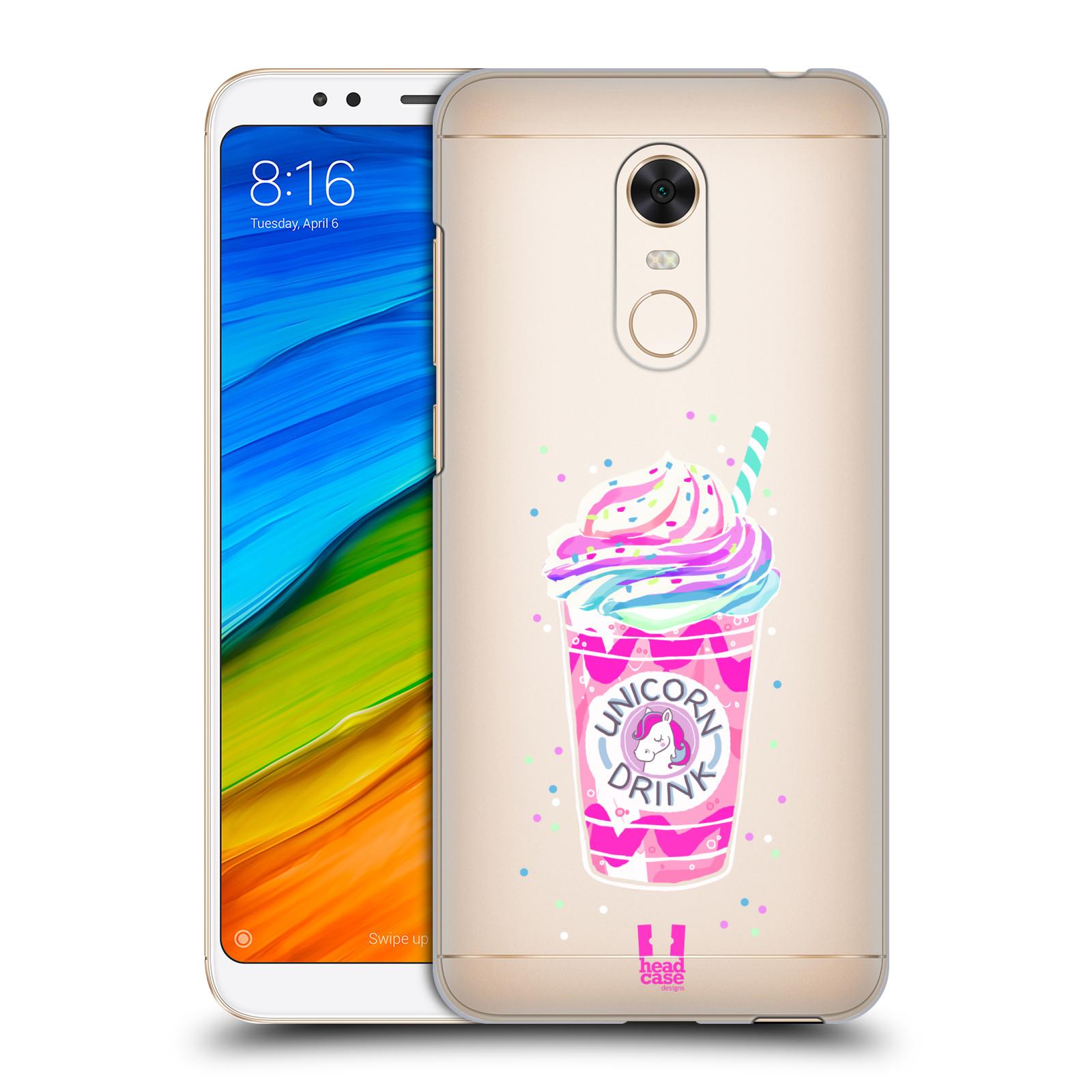 Plastové pouzdro na mobil Xiaomi Redmi 5 Plus - Head Case - Unicorn drink