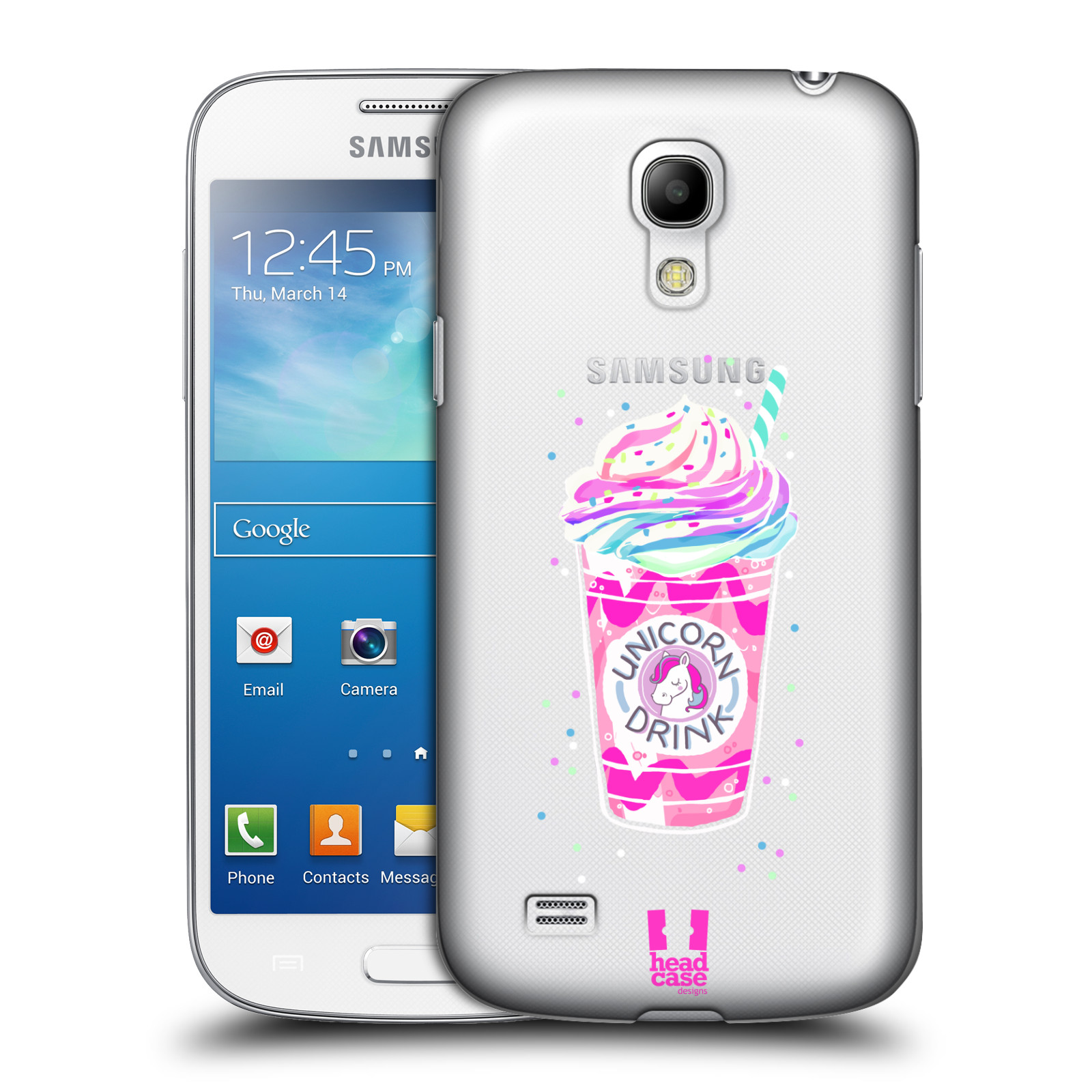 Plastové pouzdro na mobil Samsung Galaxy S4 Mini VE - Head Case - Unicorn drink