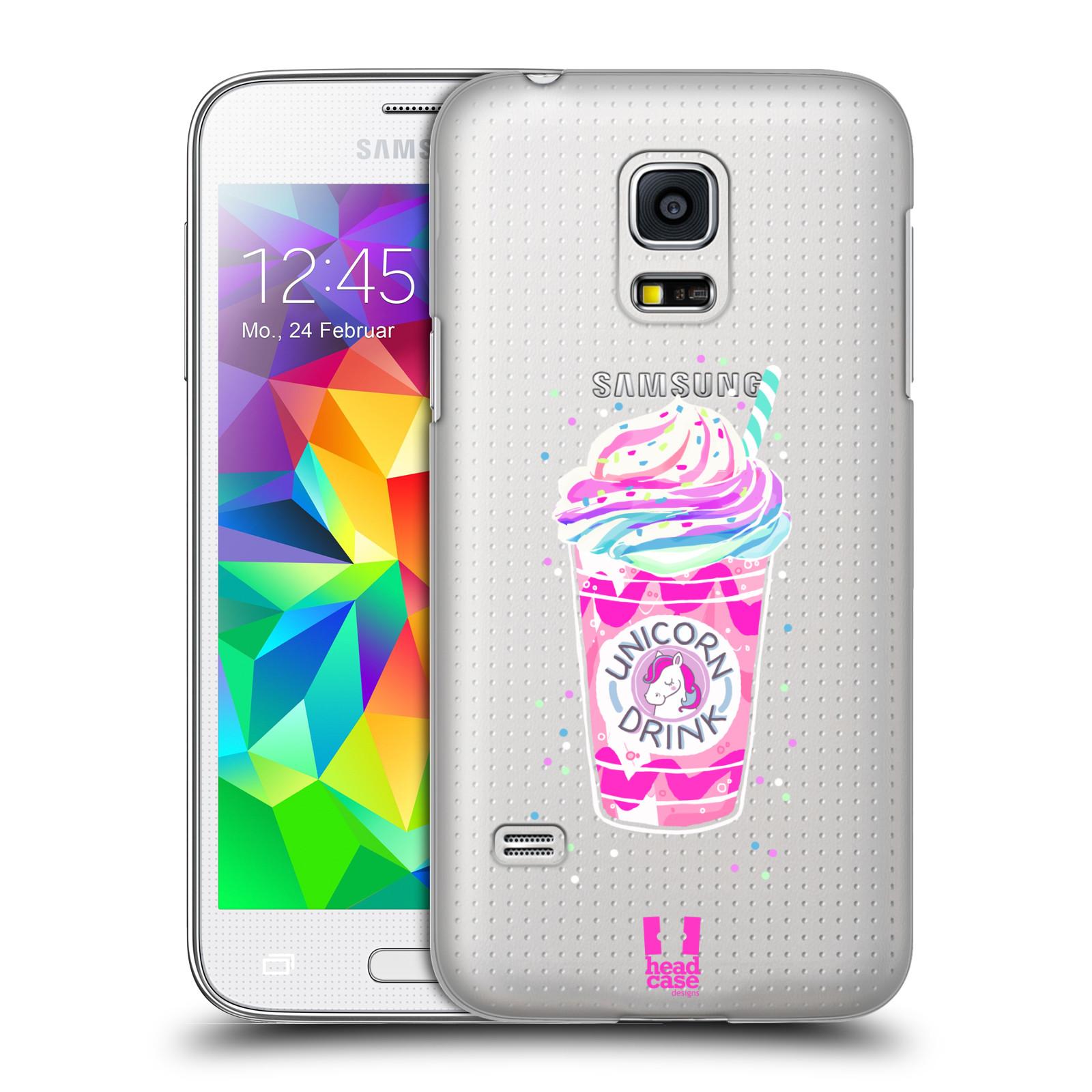 Plastové pouzdro na mobil Samsung Galaxy S5 Mini - Head Case - Unicorn drink
