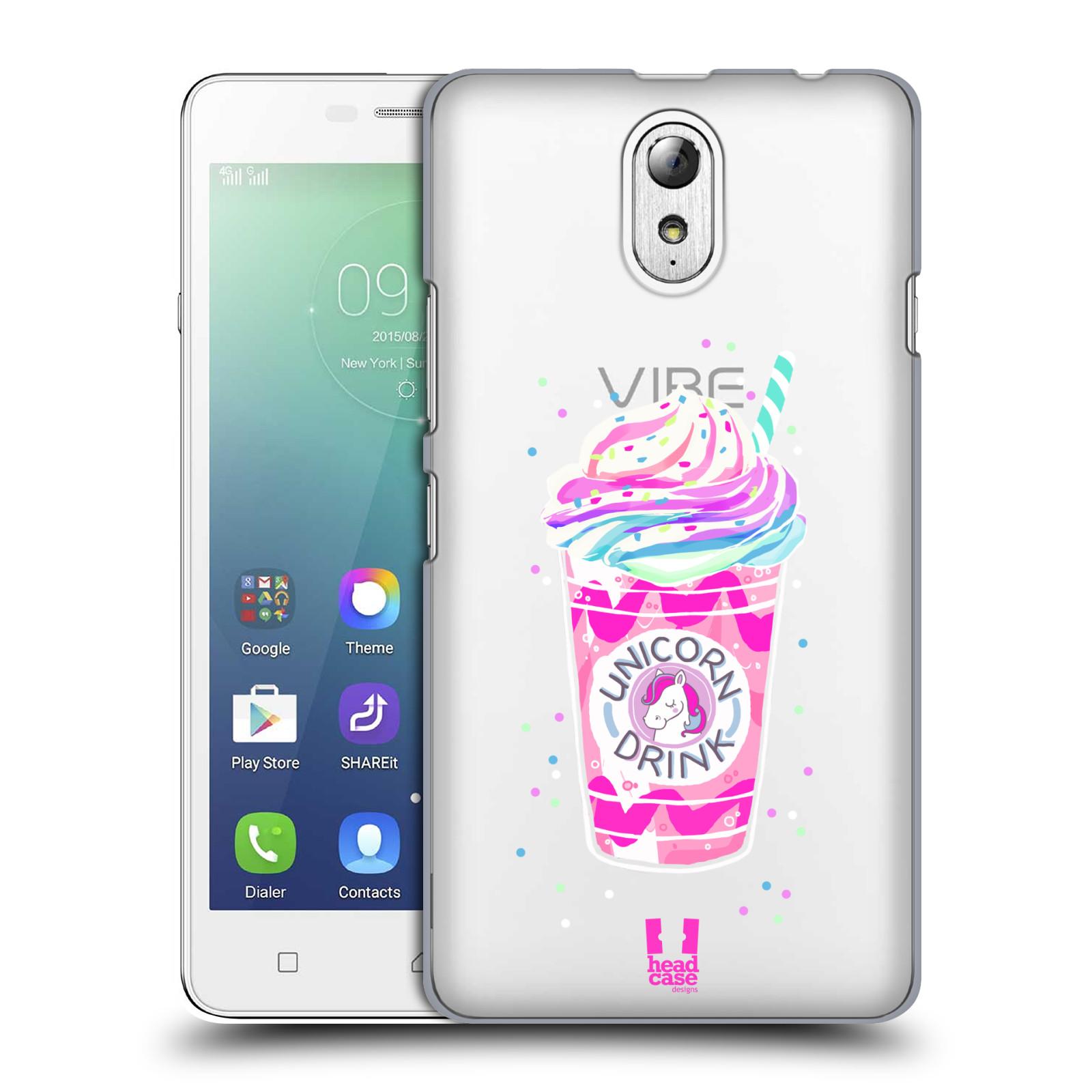 Plastové pouzdro na mobil Lenovo Vibe P1m - Head Case - Unicorn drink