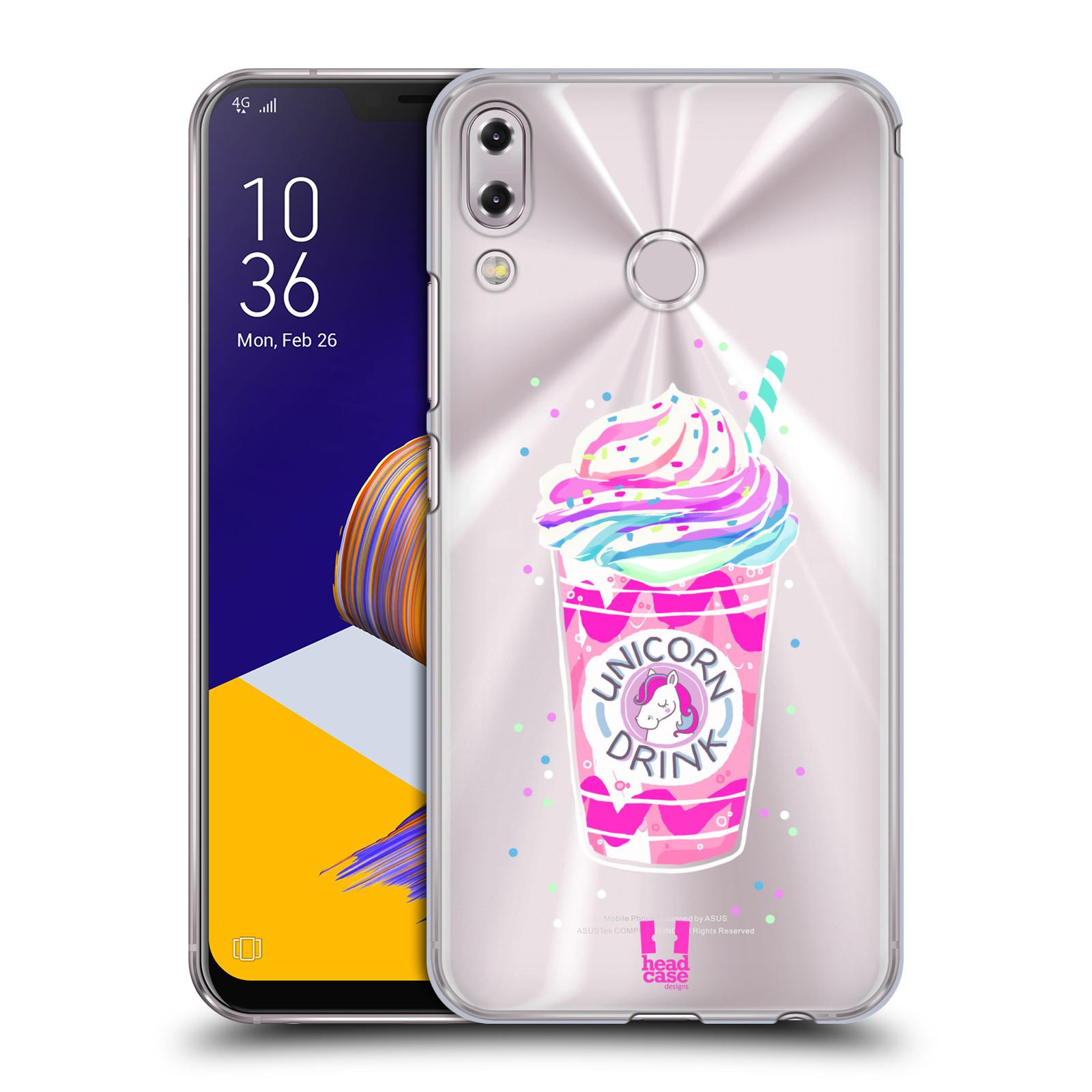 Plastové pouzdro na mobil Asus Zenfone 5z ZS620KL - Head Case - Unicorn drink