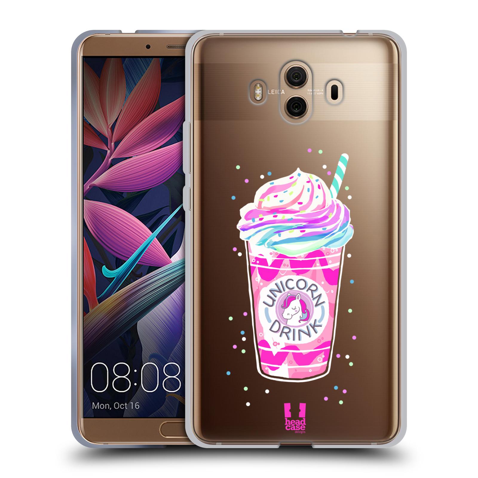 Silikonové pouzdro na mobil Huawei Mate 10 - Head Case - Unicorn drink