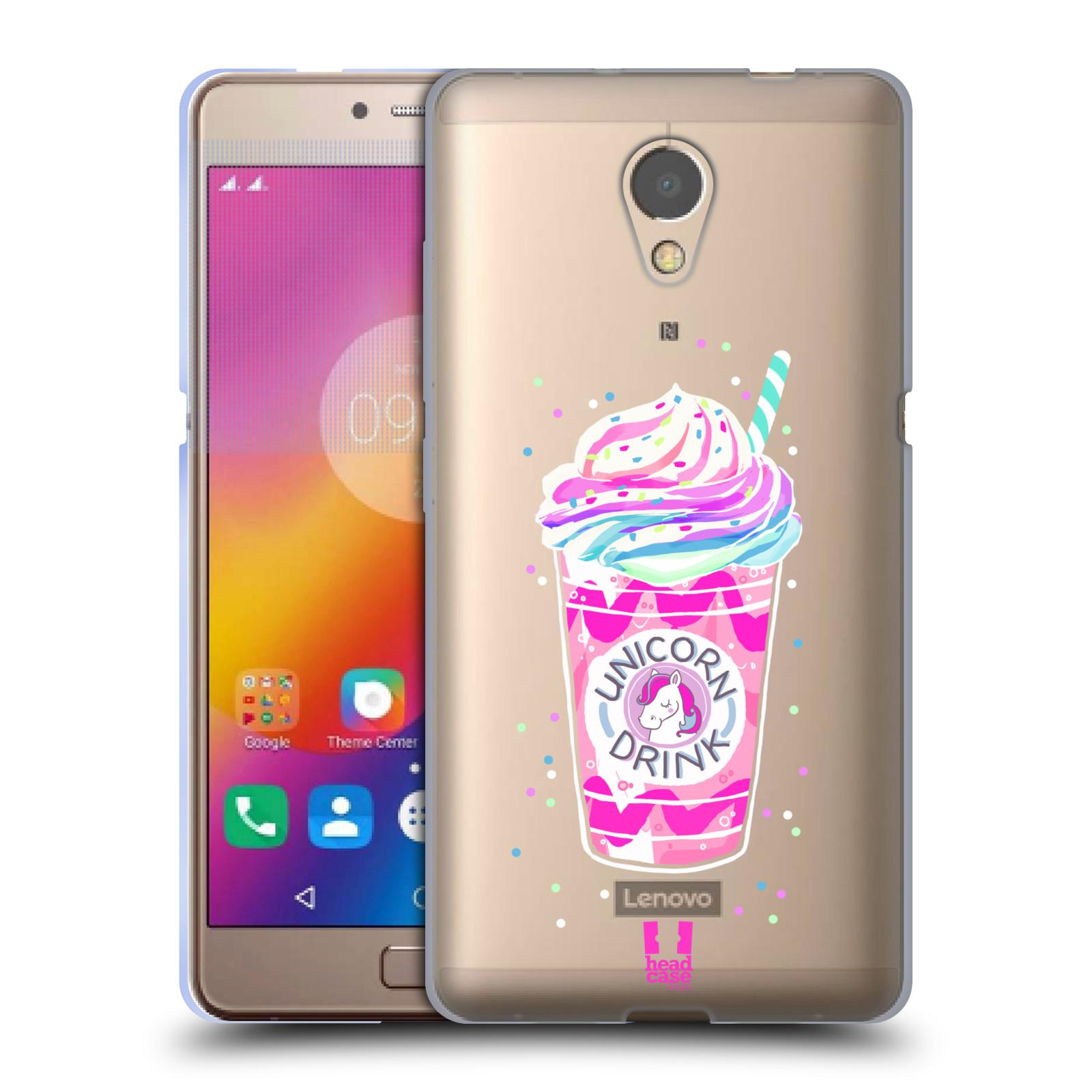 Silikonové pouzdro na mobil Lenovo P2 - Head Case - Unicorn drink