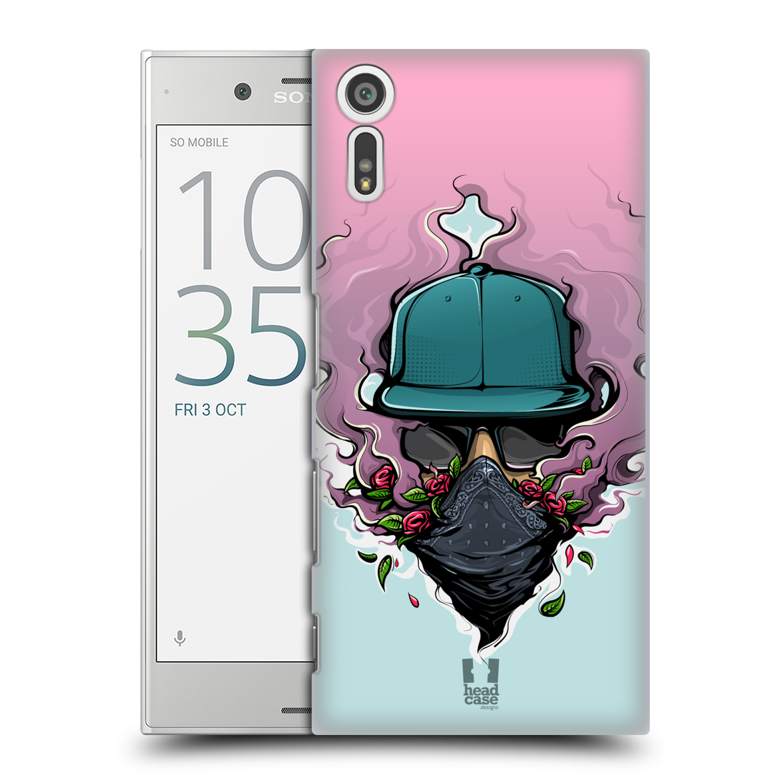 Funda HEAD CASE DESIGNS urbano Vibes Funda Rígida Posterior Para Sony Xperia Xz
