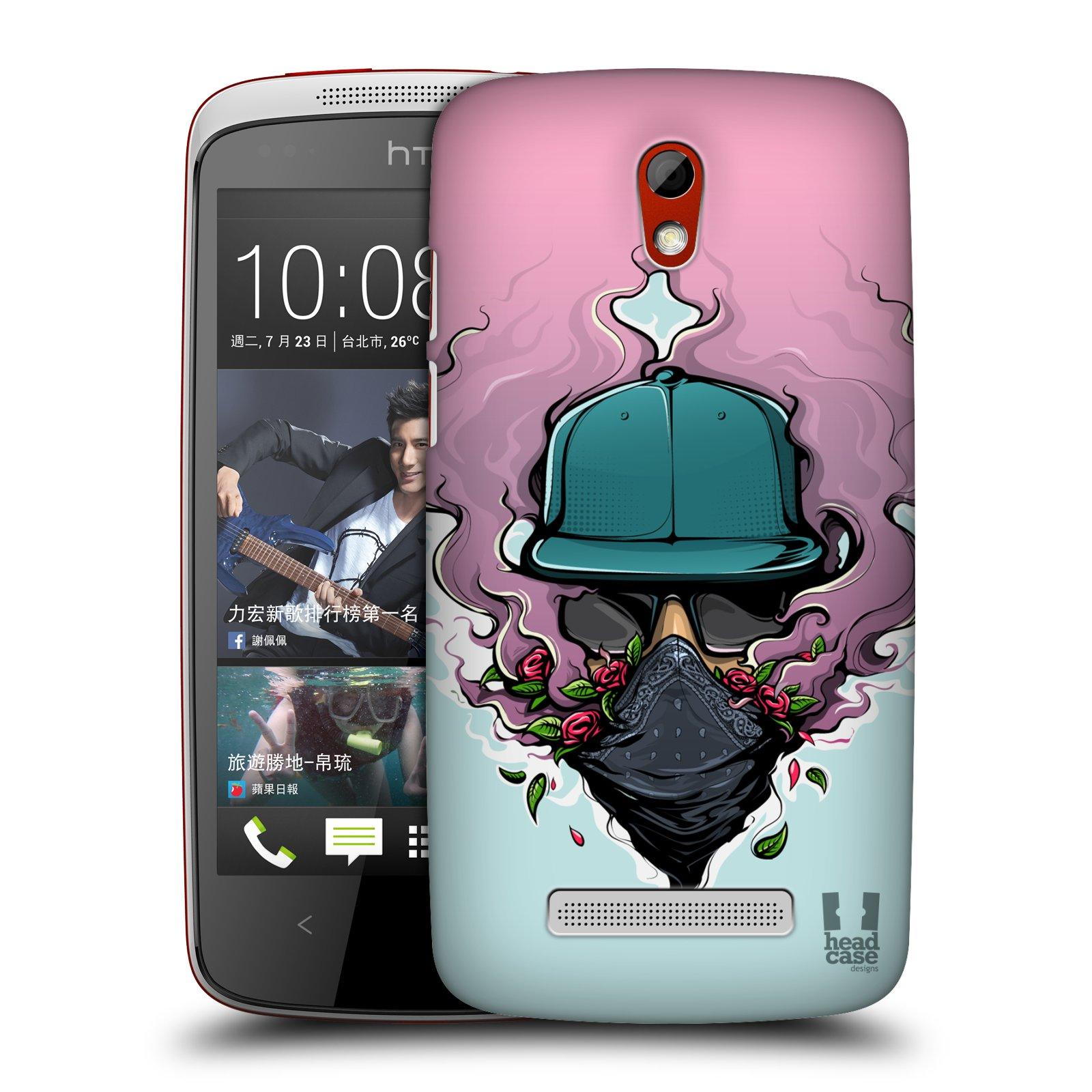 Case Designs urbano VIBES duro HEAD Funda trasera para teléfonos HTC 2