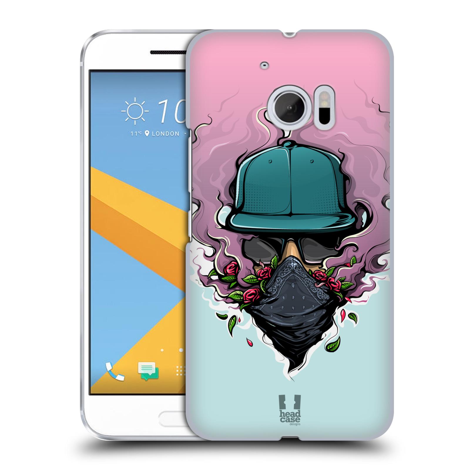 Case Designs urbano VIBES duro HEAD volver estuche para HTC 10