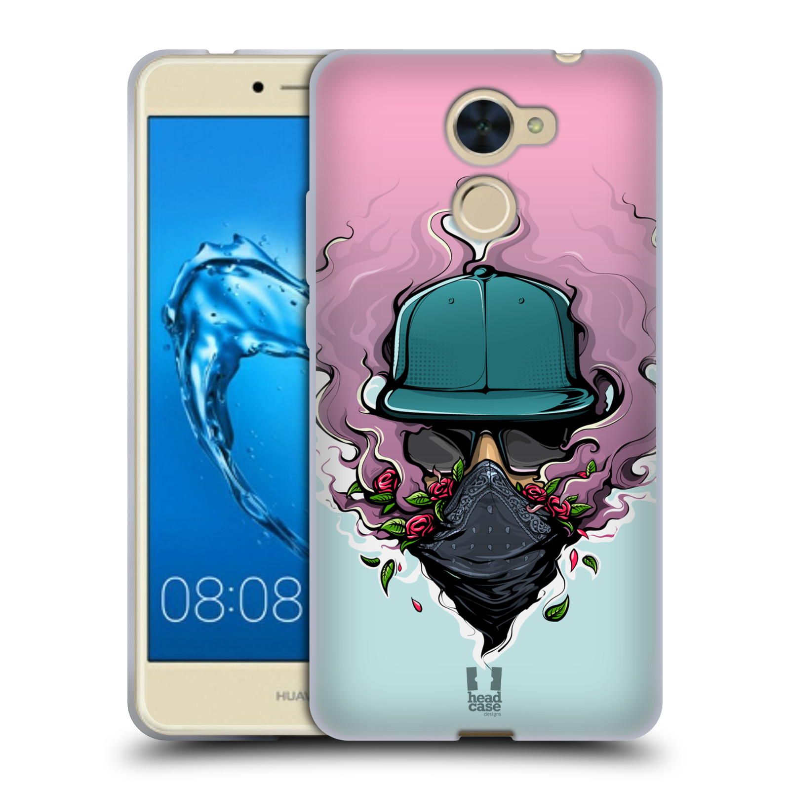 Case Designs URBAN VIBES Suave HEAD Gel caso para HUAWEI Y7 PRIME/ENJOY 7 Plus
