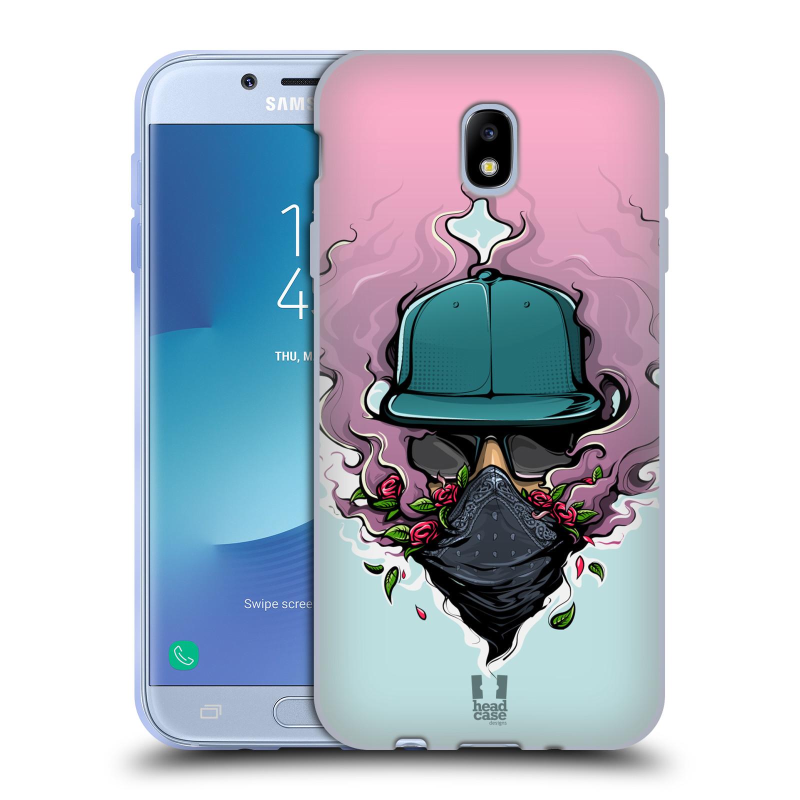 Funda HEAD CASE DESIGNS CON Gel Suave de vibraciones urbano para Samsung Galaxy J7 2017/Pro