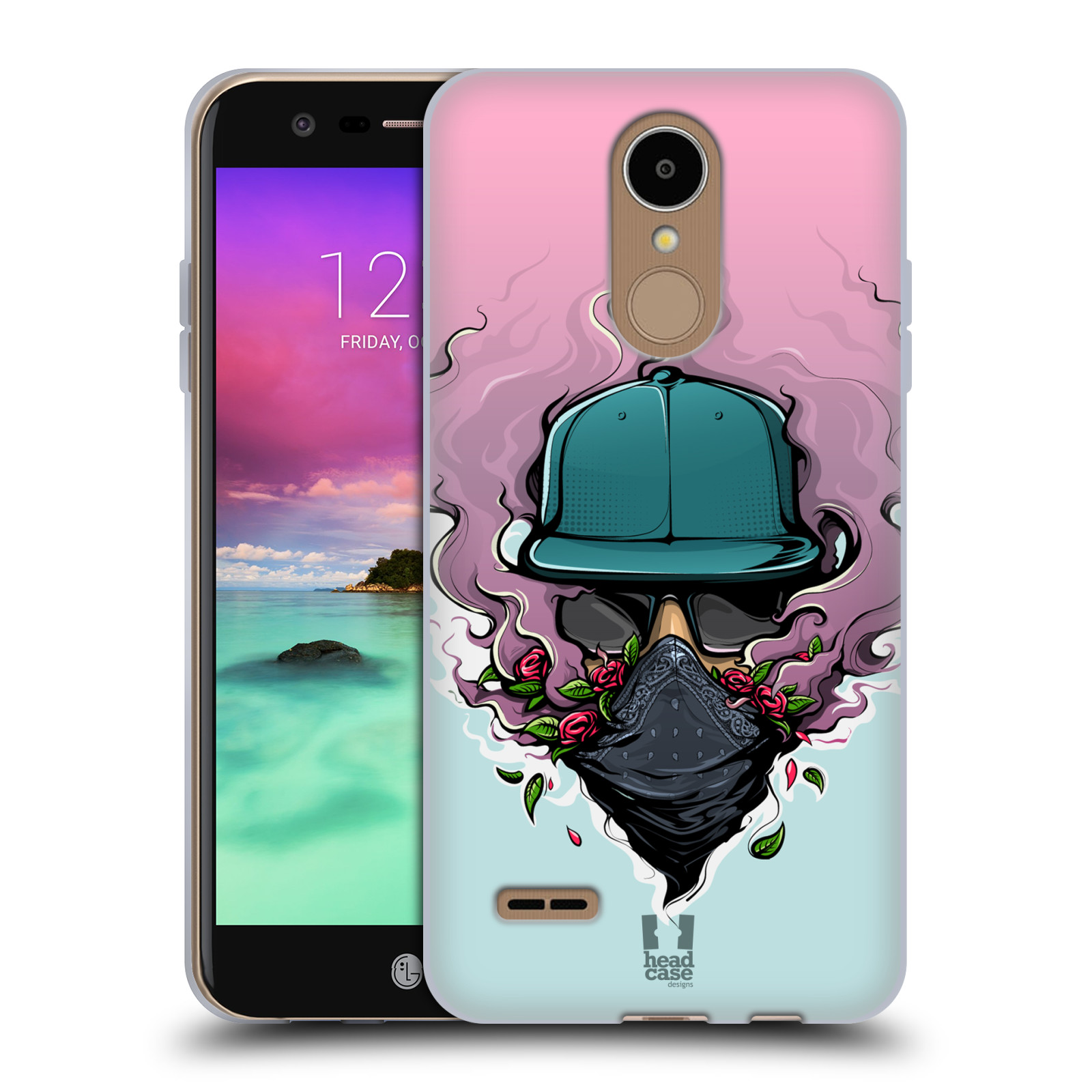 Case Designs URBAN VIBES Suave HEAD Gel caso para LG K8 (2017)
