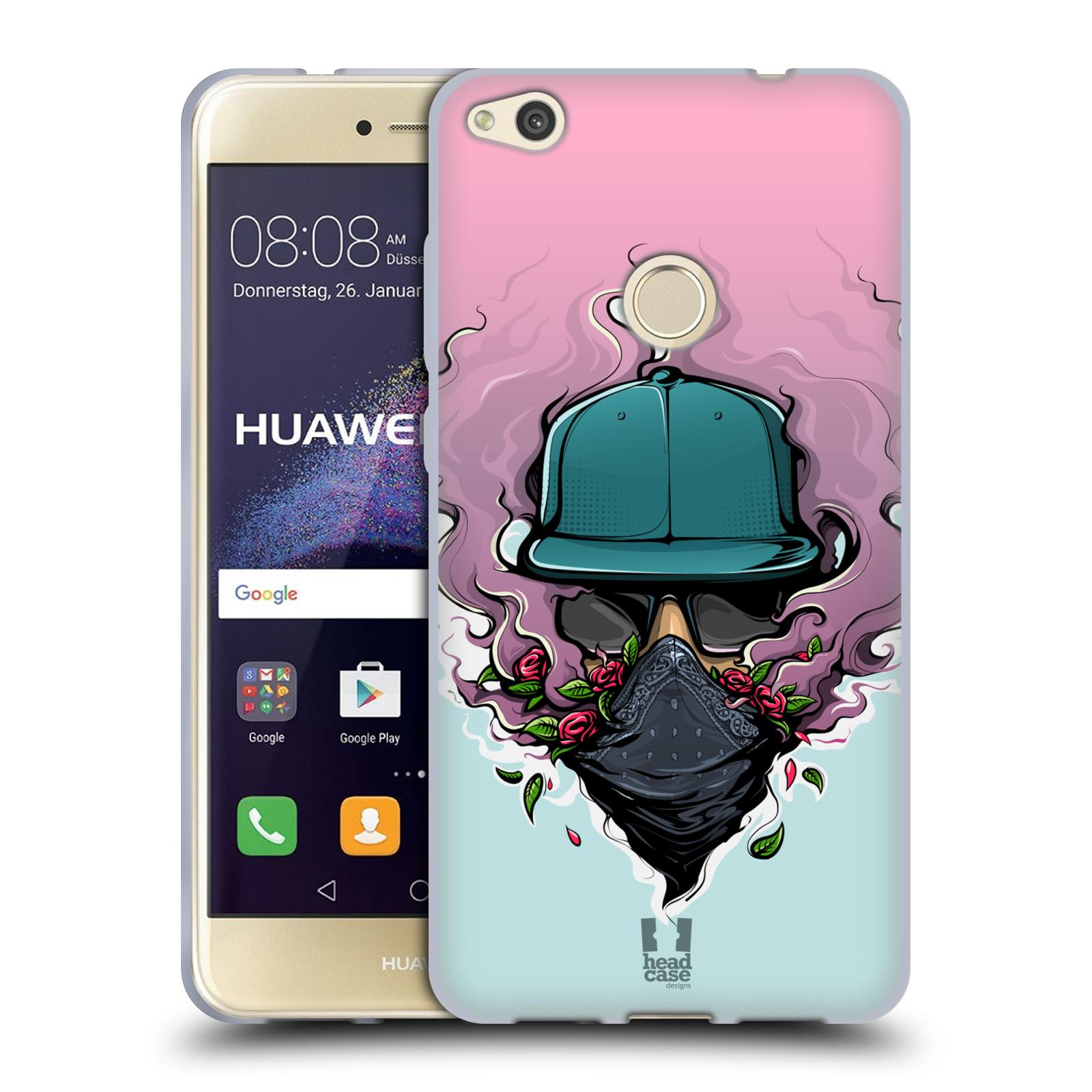 Funda HEAD CASE DESIGNS CON Gel Suave de vibraciones urbano para Huawei P8 Lite (2017)