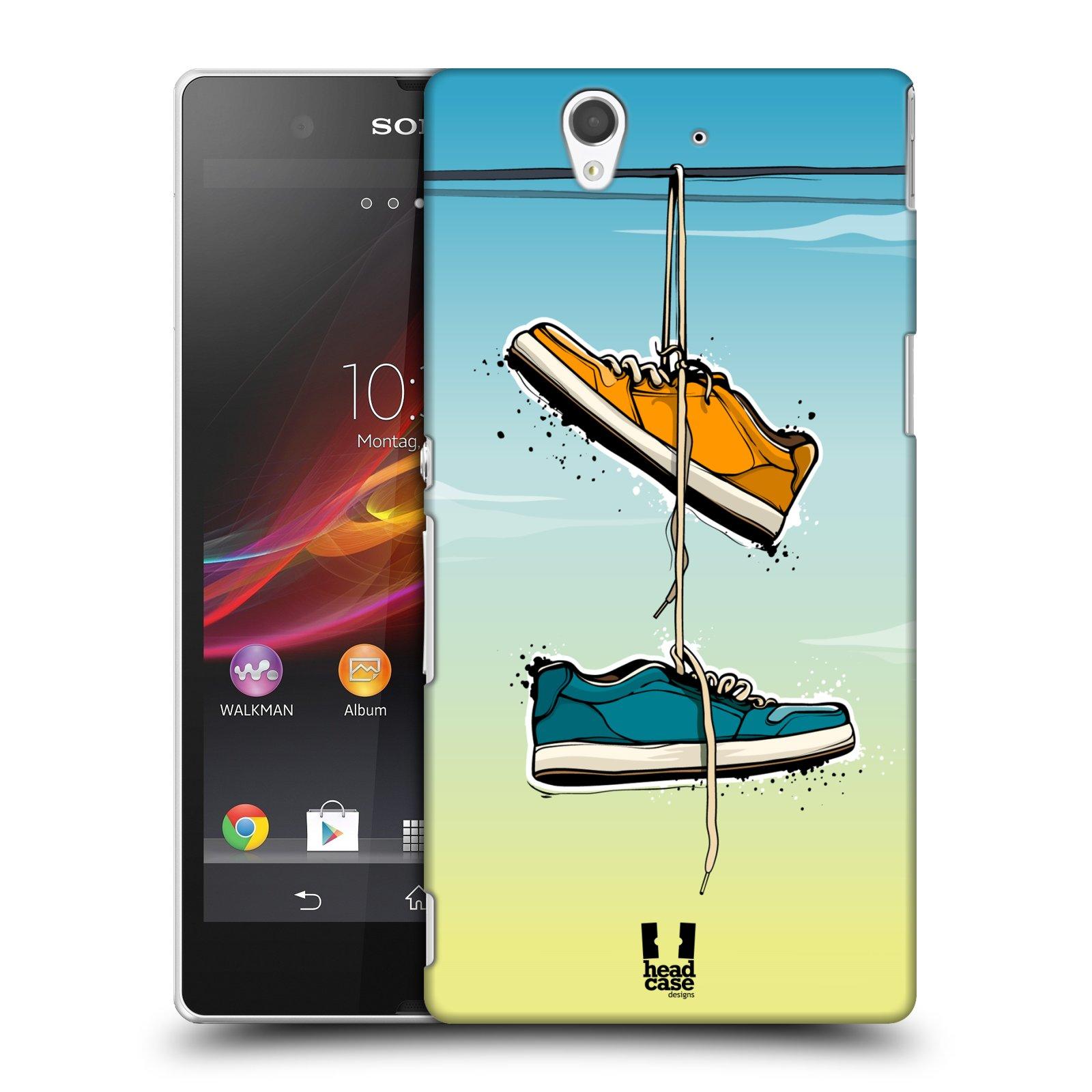 Funda HEAD CASE DESIGNS urbano Vibes Funda Rígida Posterior Para Sony Teléfonos 3