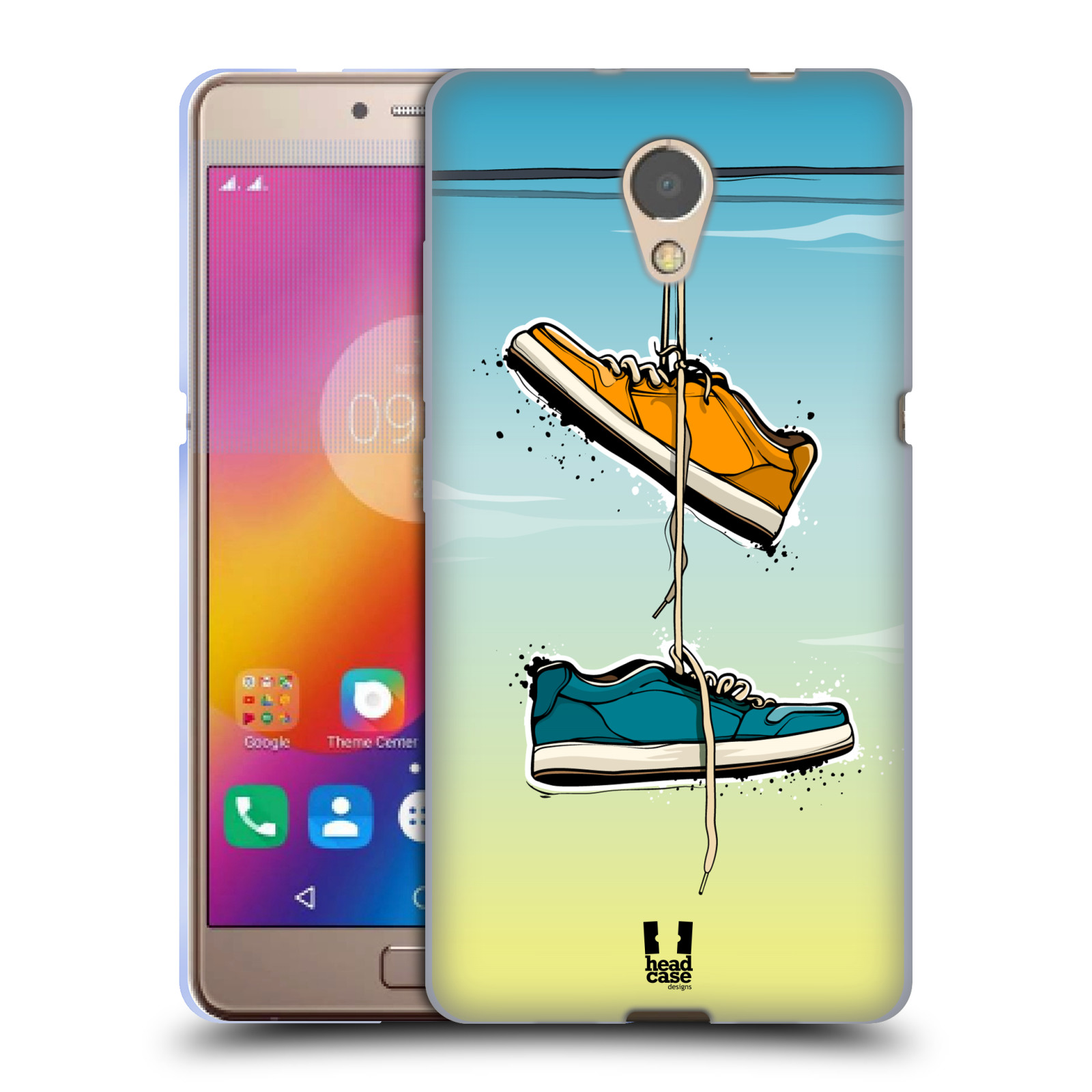 Case Designs URBAN VIBES Suave HEAD Gel caso para LENOVO P2
