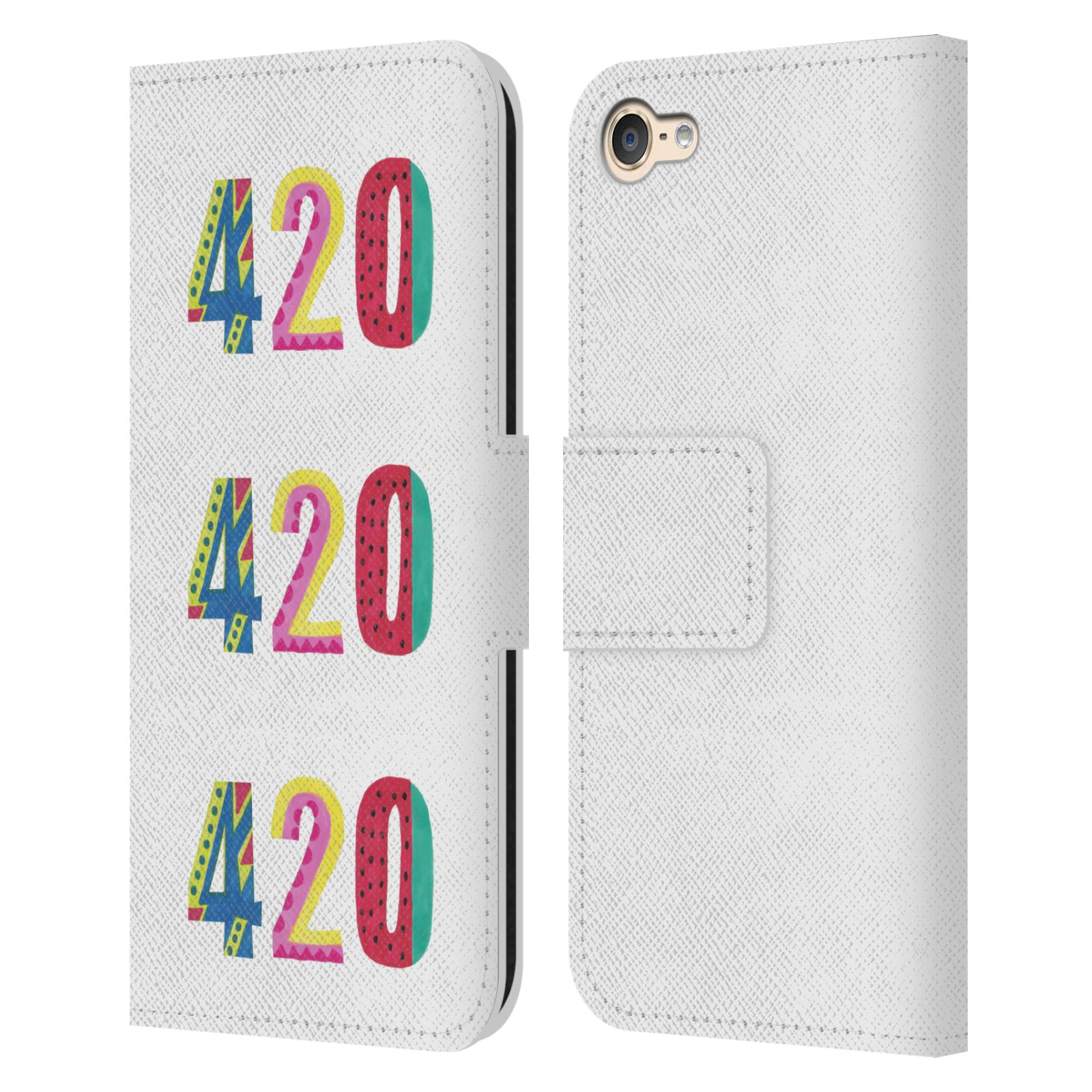 OFFICIAL-VASARE-NAR-TYPOGRAPHY-2-LEATHER-BOOK-CASE-FOR-APPLE-iPOD-TOUCH-MP3