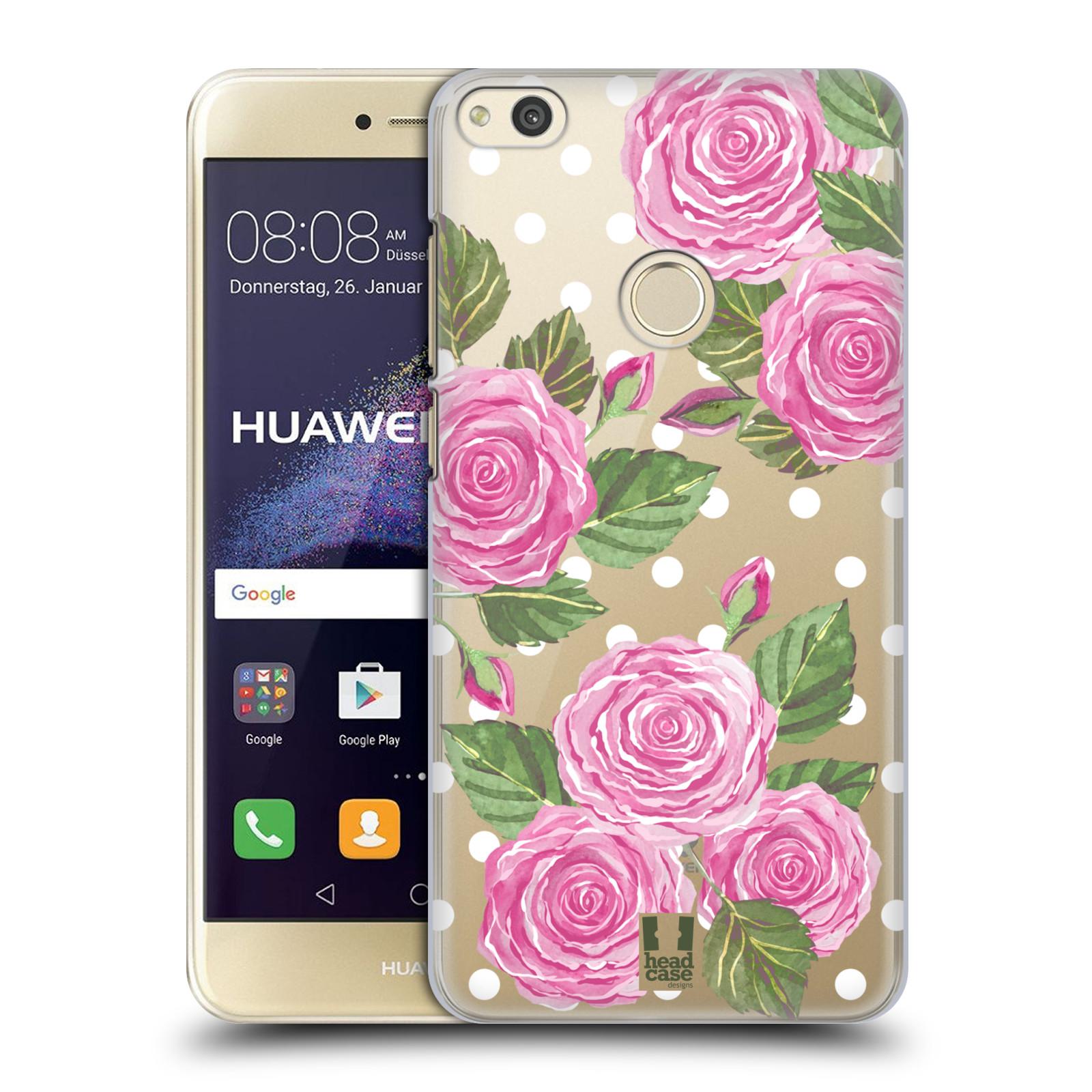 Plastové pouzdro na mobil Huawei P9 Lite (2017) - Head Case - Hezoučké růžičky - průhledné