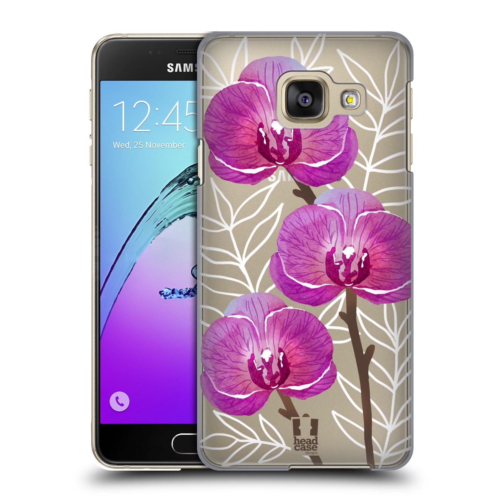 Plastové pouzdro na mobil Samsung Galaxy A3 (2016) - Head Case - Hezoučké kvítky - průhledné