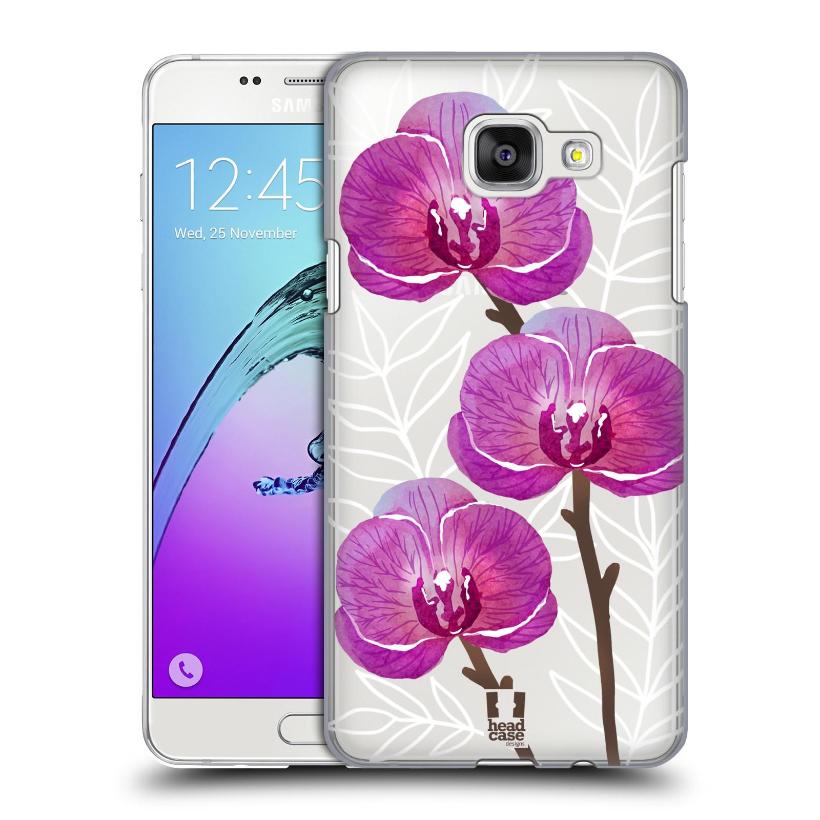Plastové pouzdro na mobil Samsung Galaxy A5 (2016) - Head Case - Hezoučké kvítky - průhledné