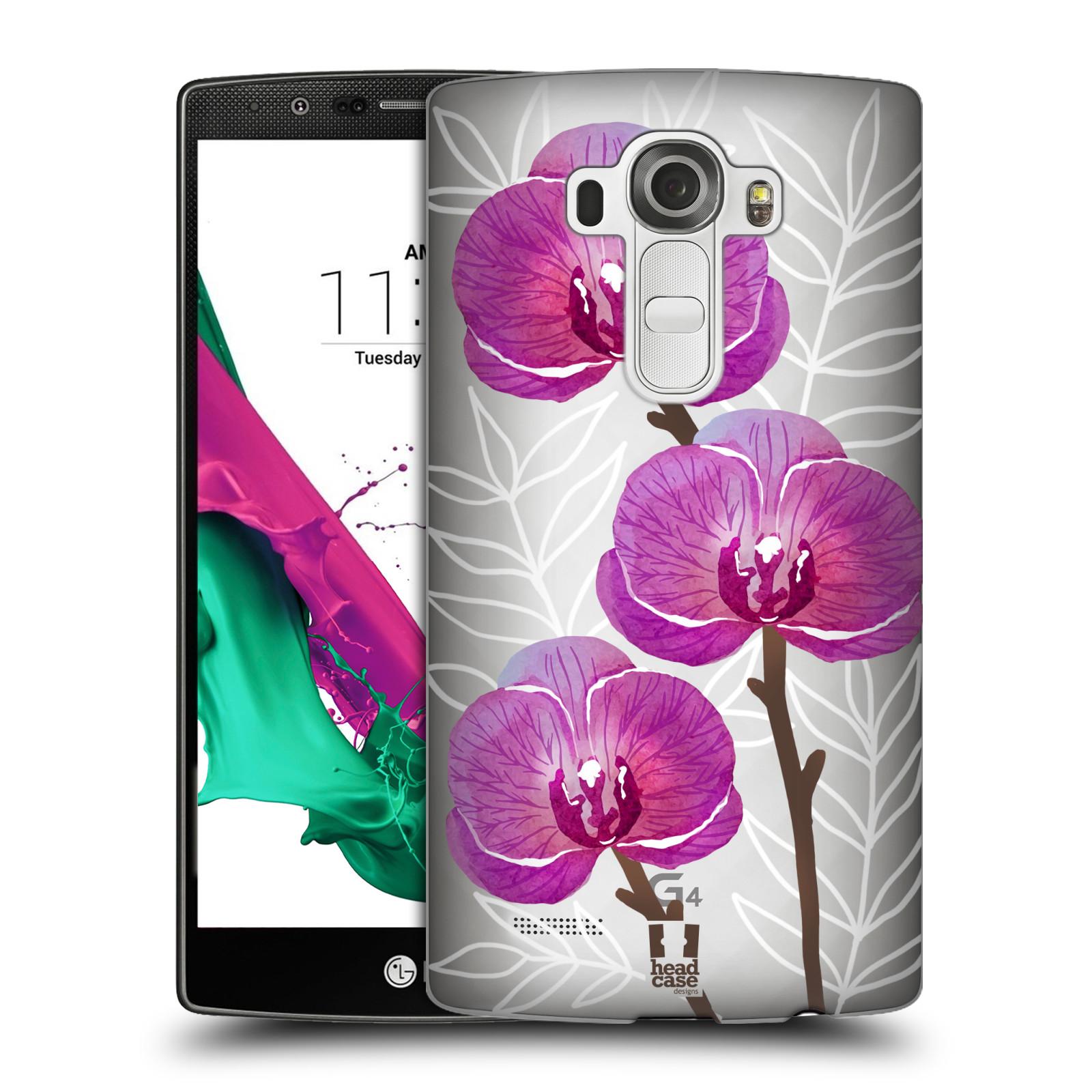 Plastové pouzdro na mobil LG G4 - Head Case - Hezoučké kvítky - průhledné