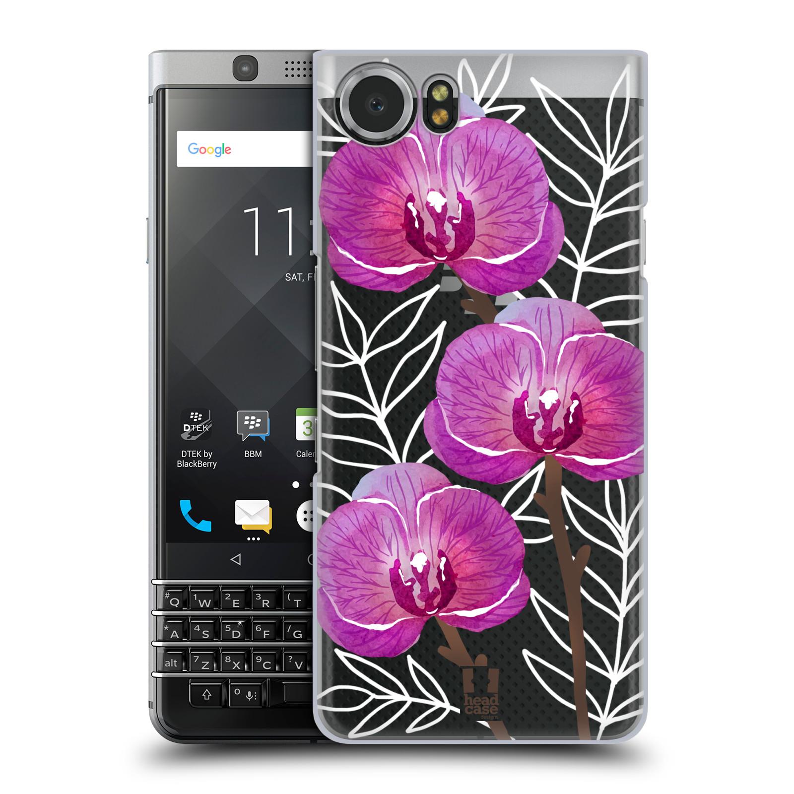 Plastové pouzdro na mobil BlackBerry KEYone - Head Case - Hezoučké kvítky - průhledné