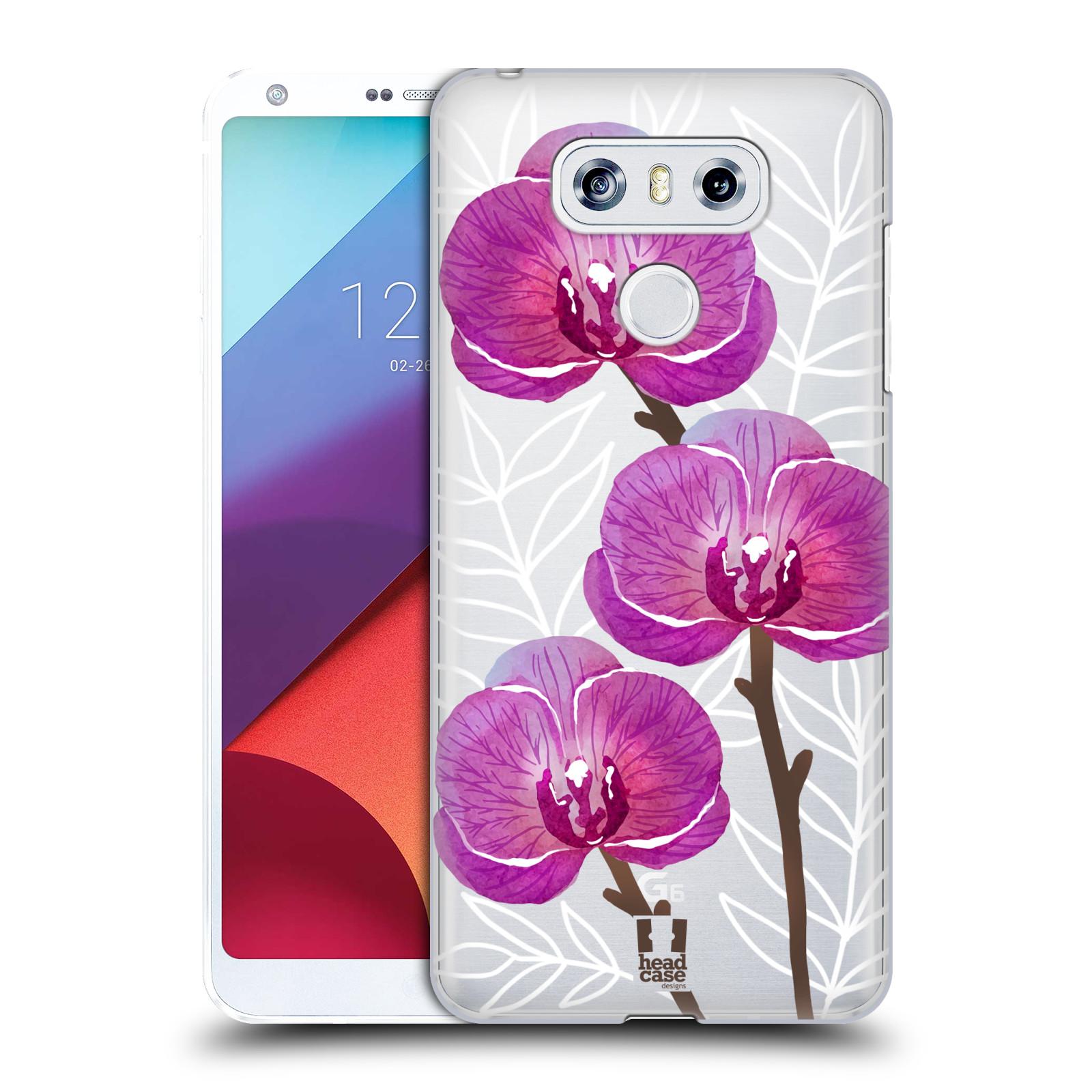 Plastové pouzdro na mobil LG G6 - Head Case - Hezoučké kvítky - průhledné