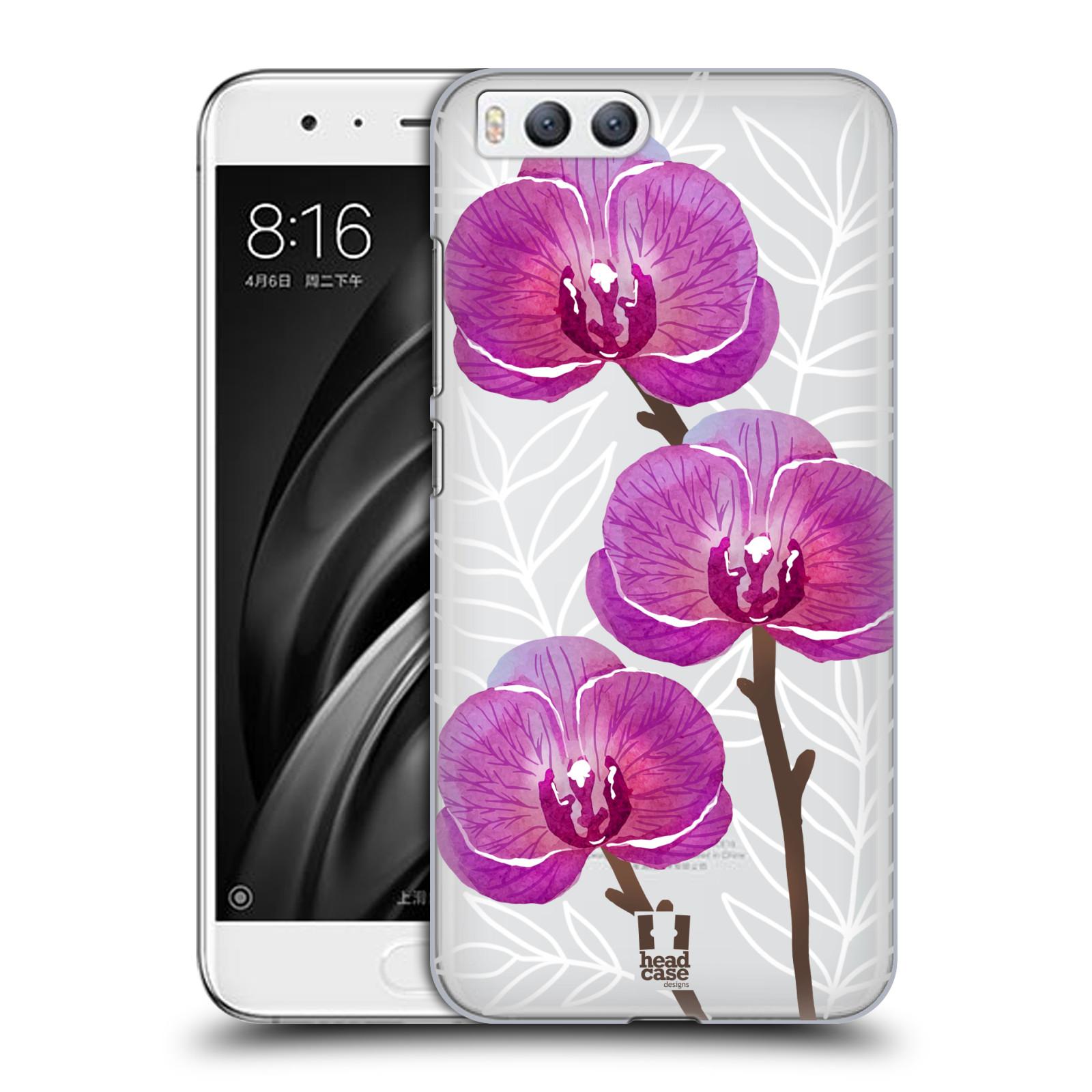 Plastové pouzdro na mobil Xiaomi Mi6 - Head Case - Hezoučké kvítky - průhledné