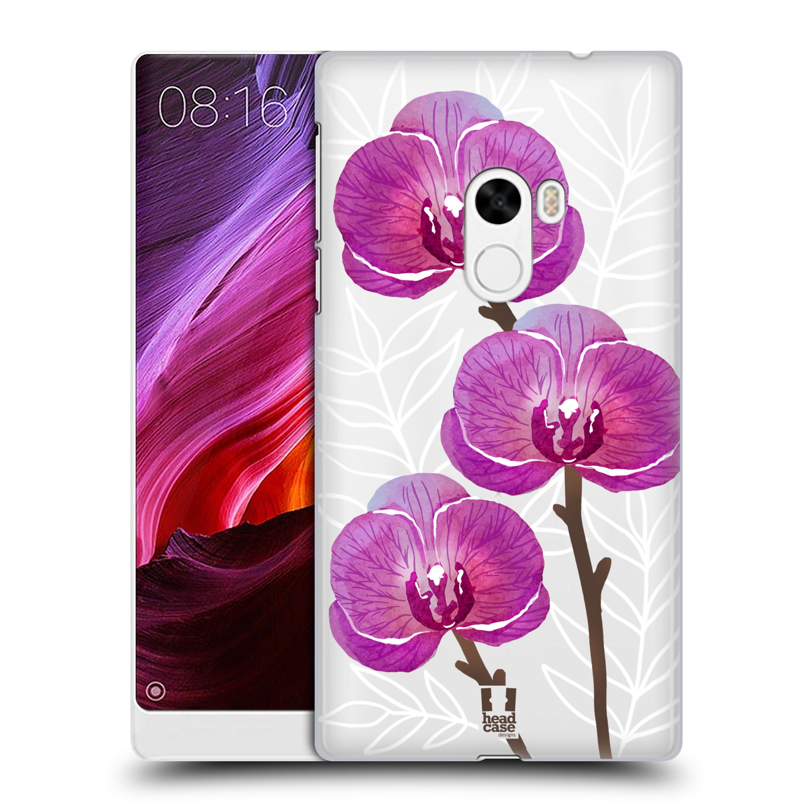 Plastové pouzdro na mobil Xiaomi Mi Mix - Head Case - Hezoučké kvítky - průhledné