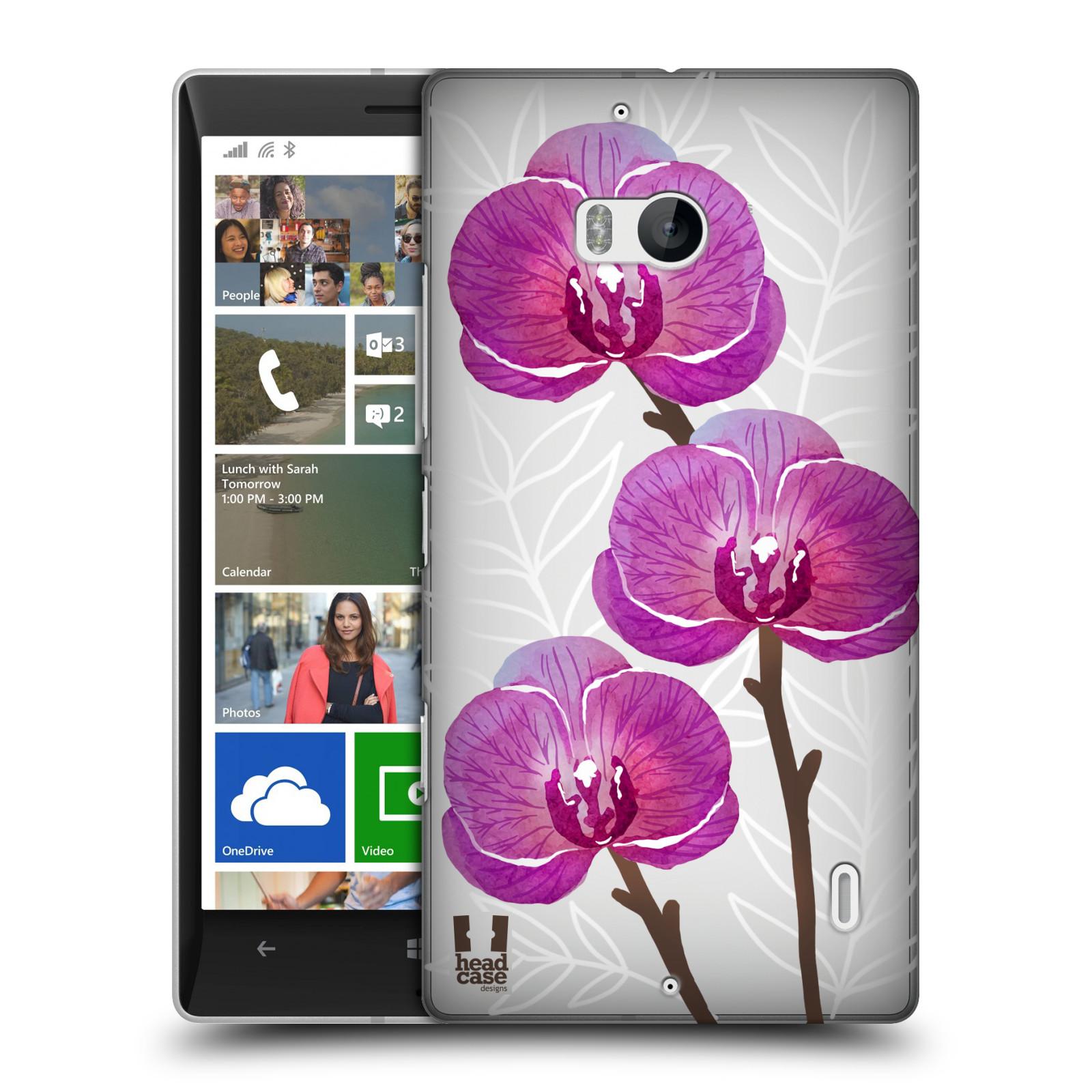 Plastové pouzdro na mobil Nokia Lumia 930 - Head Case - Hezoučké kvítky - průhledné
