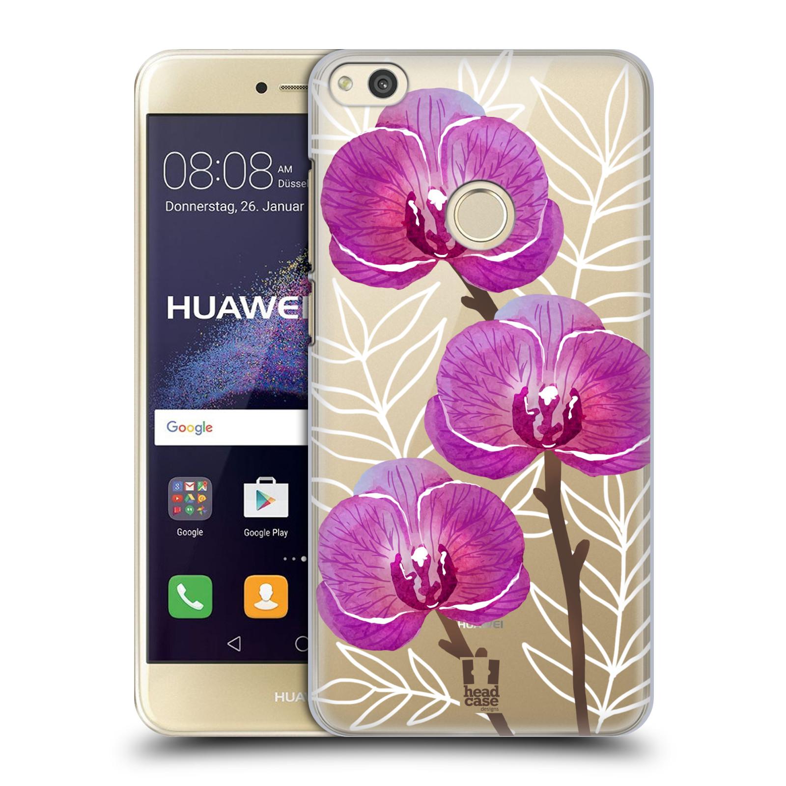 Plastové pouzdro na mobil Huawei P9 Lite (2017) - Head Case - Hezoučké kvítky - průhledné