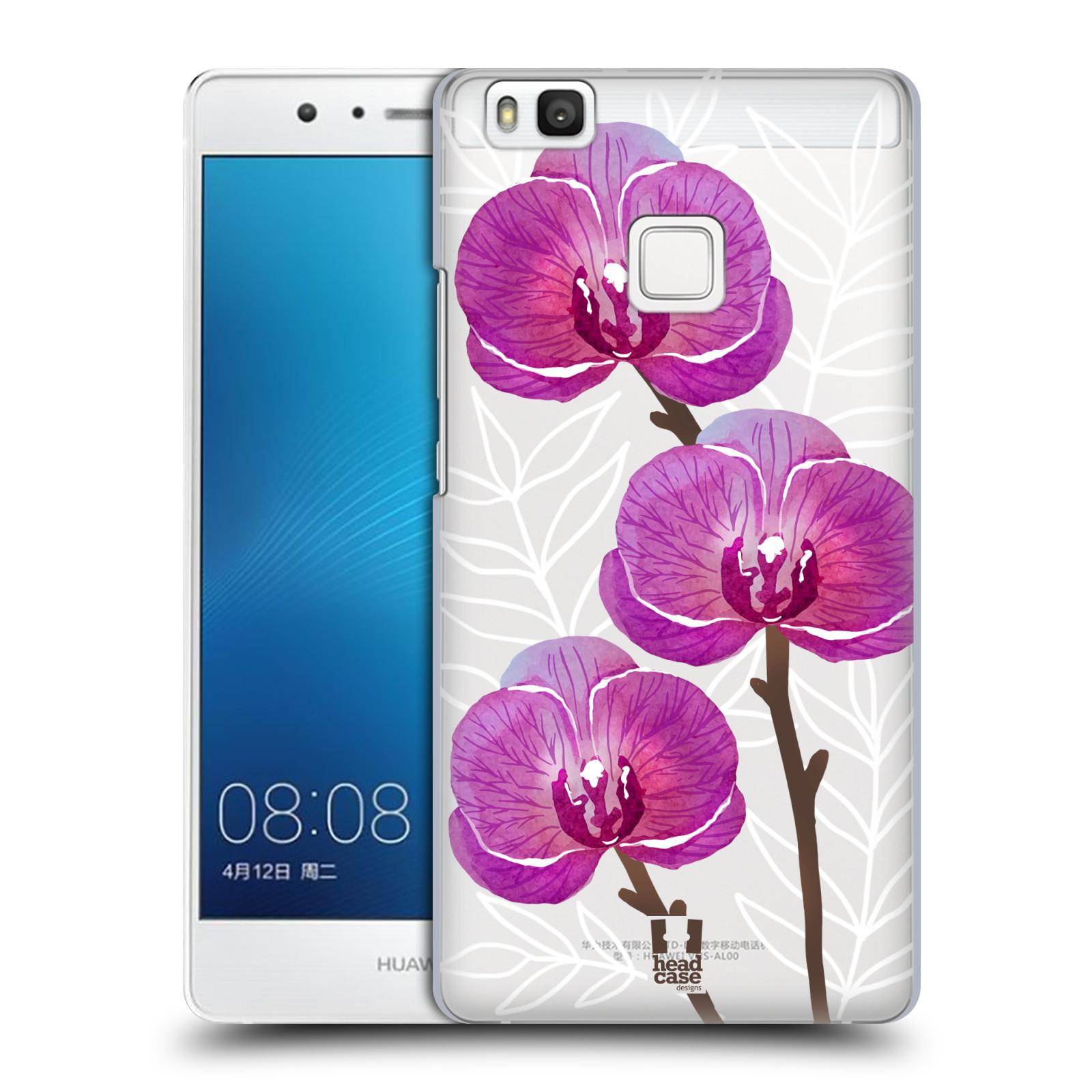 Plastové pouzdro na mobil Huawei P9 Lite - Head Case - Hezoučké kvítky - průhledné