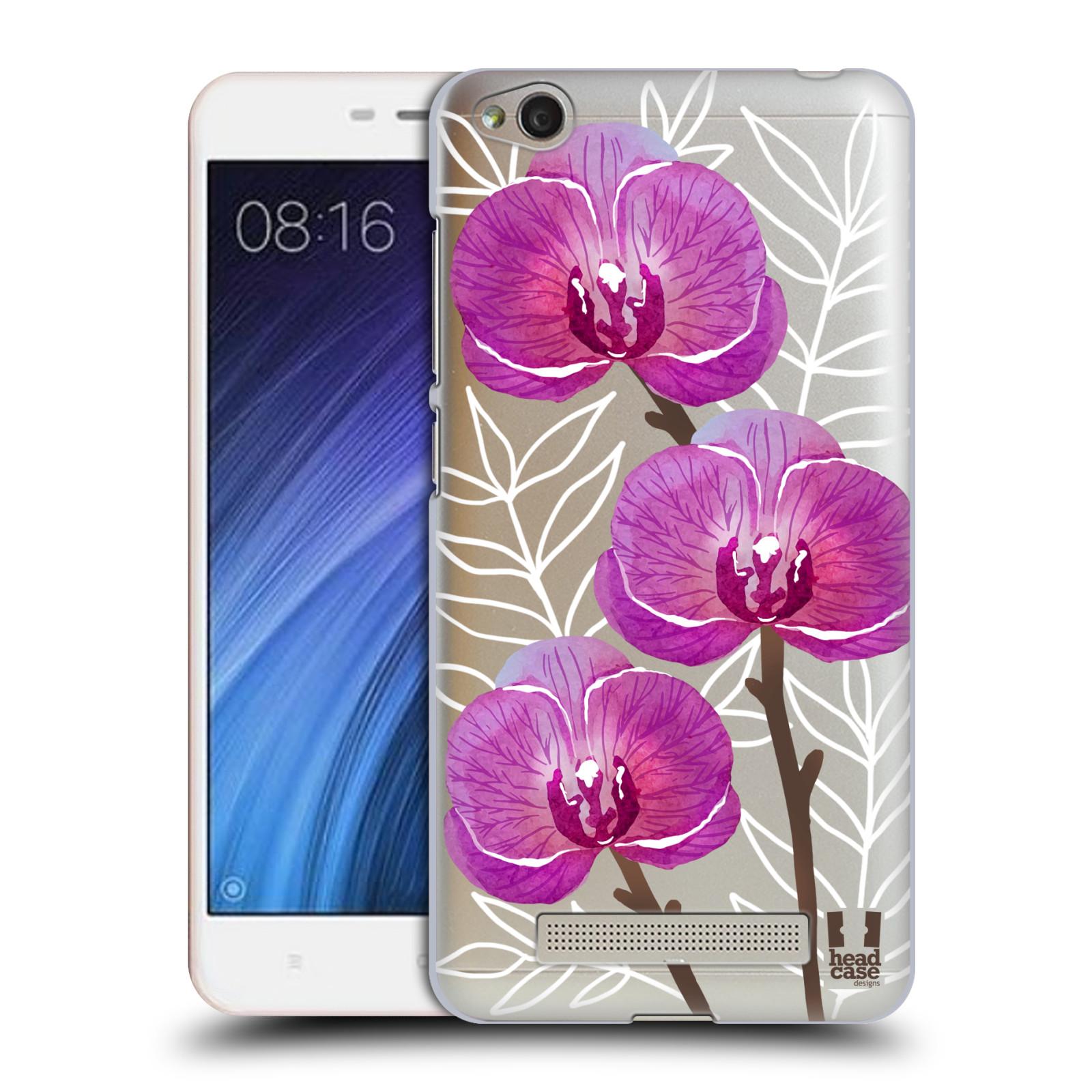 Plastové pouzdro na mobil Xiaomi Redmi 4A - Head Case - Hezoučké kvítky - průhledné