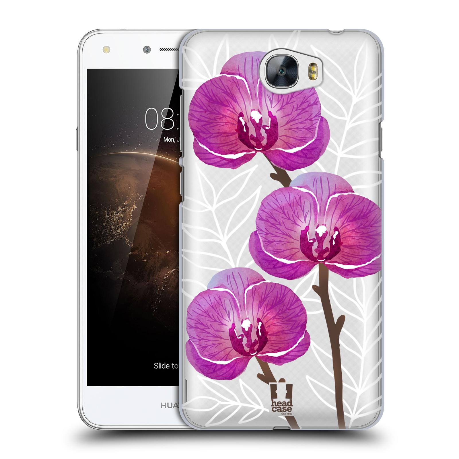 Plastové pouzdro na mobil Huawei Y5 II - Head Case - Hezoučké kvítky - průhledné