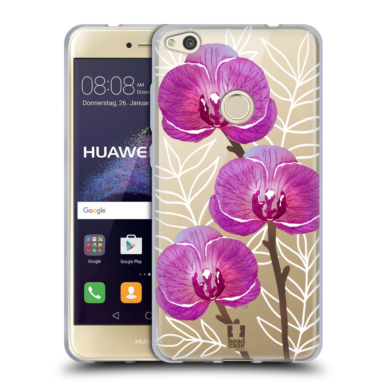 Silikonové pouzdro na mobil Huawei P9 Lite (2017) - Head Case - Hezoučké kvítky - průhledné