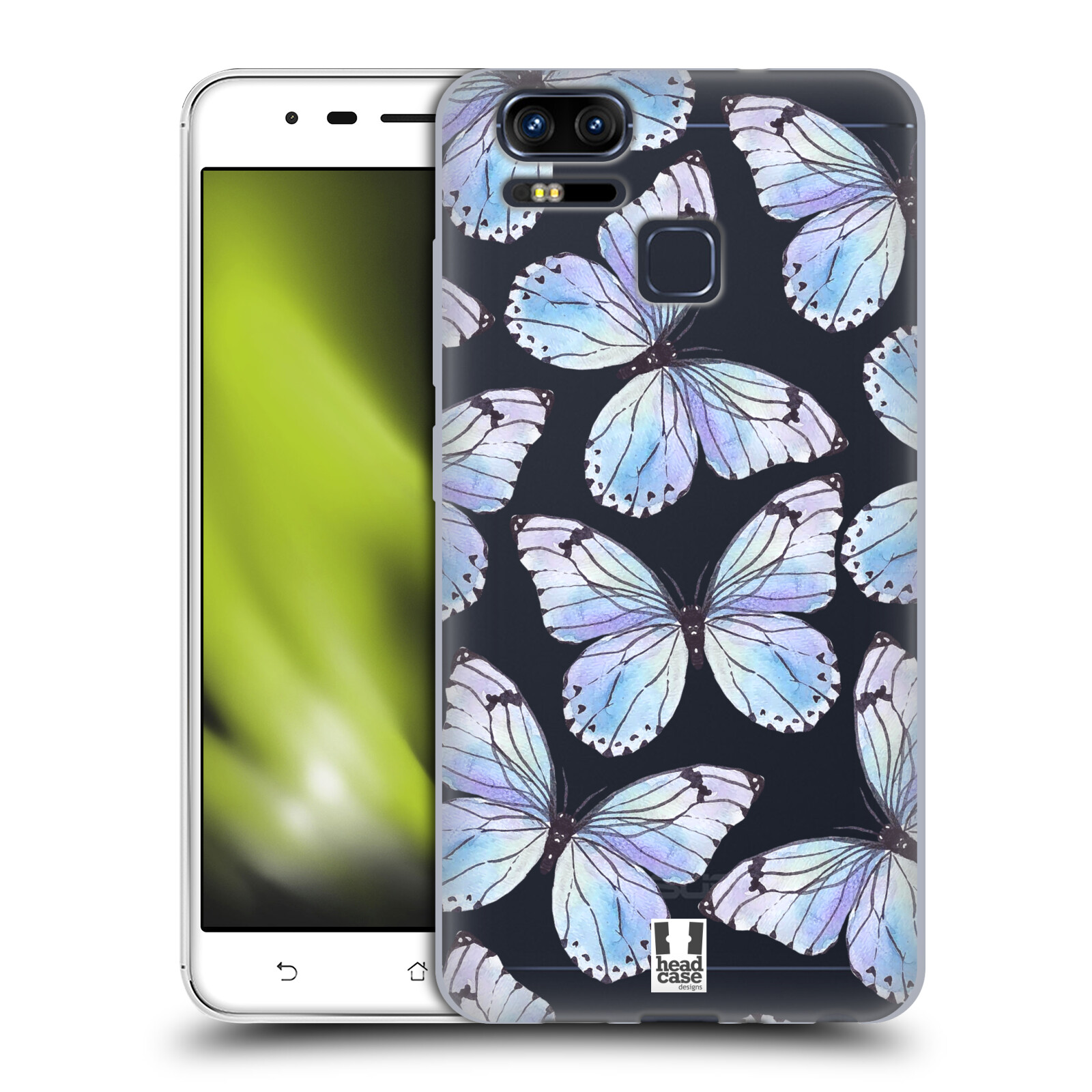HEAD-CASE-DESIGNS-WATERCOLOUR-INSECTS-GEL-CASE-FOR-ASUS-ZENFONE-3-ZOOM-ZE553KL