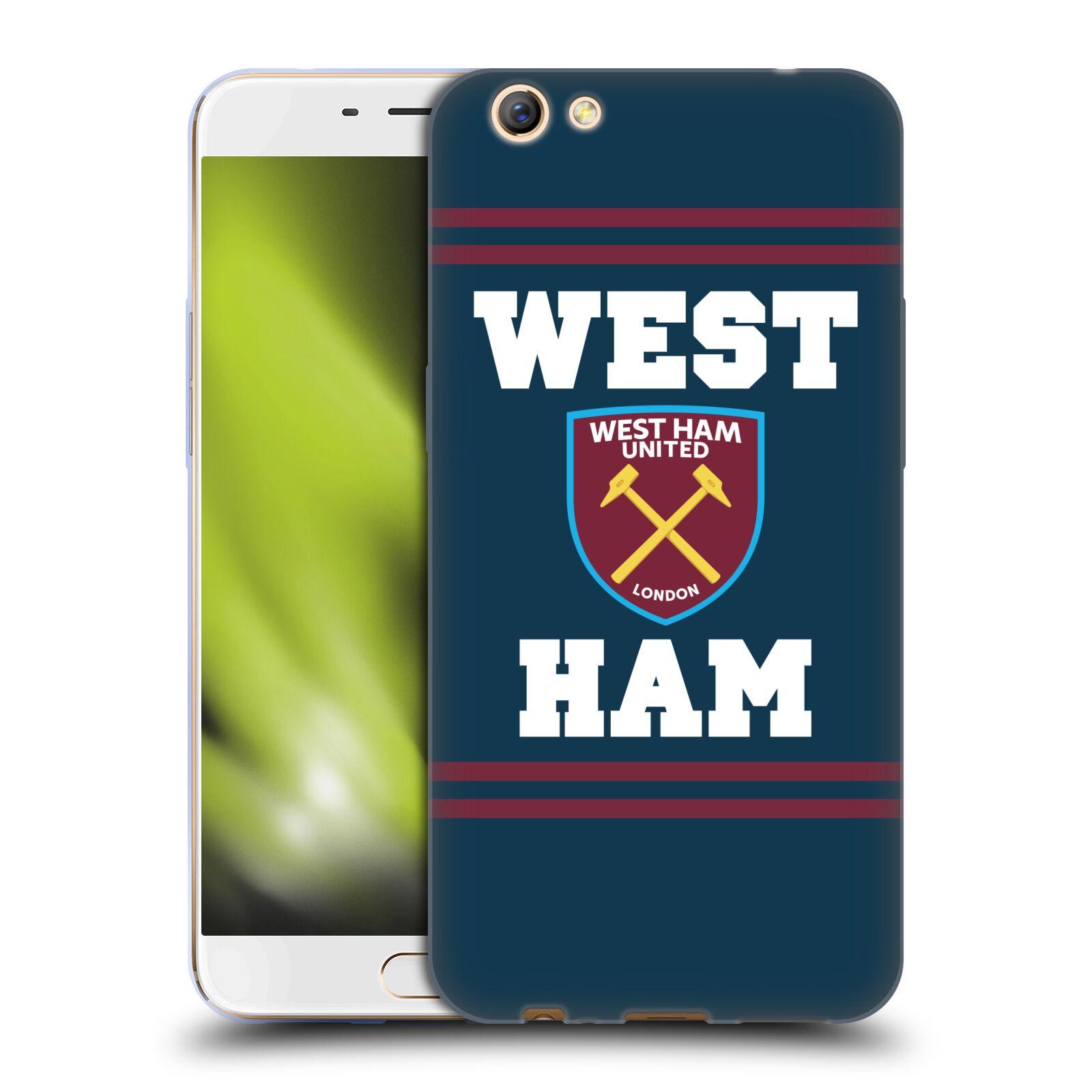 OFFICIAL-WEST-HAM-UNITED-FC-2018-19-CREST-SOFT-GEL-CASE-FOR-OPPO-PHONES