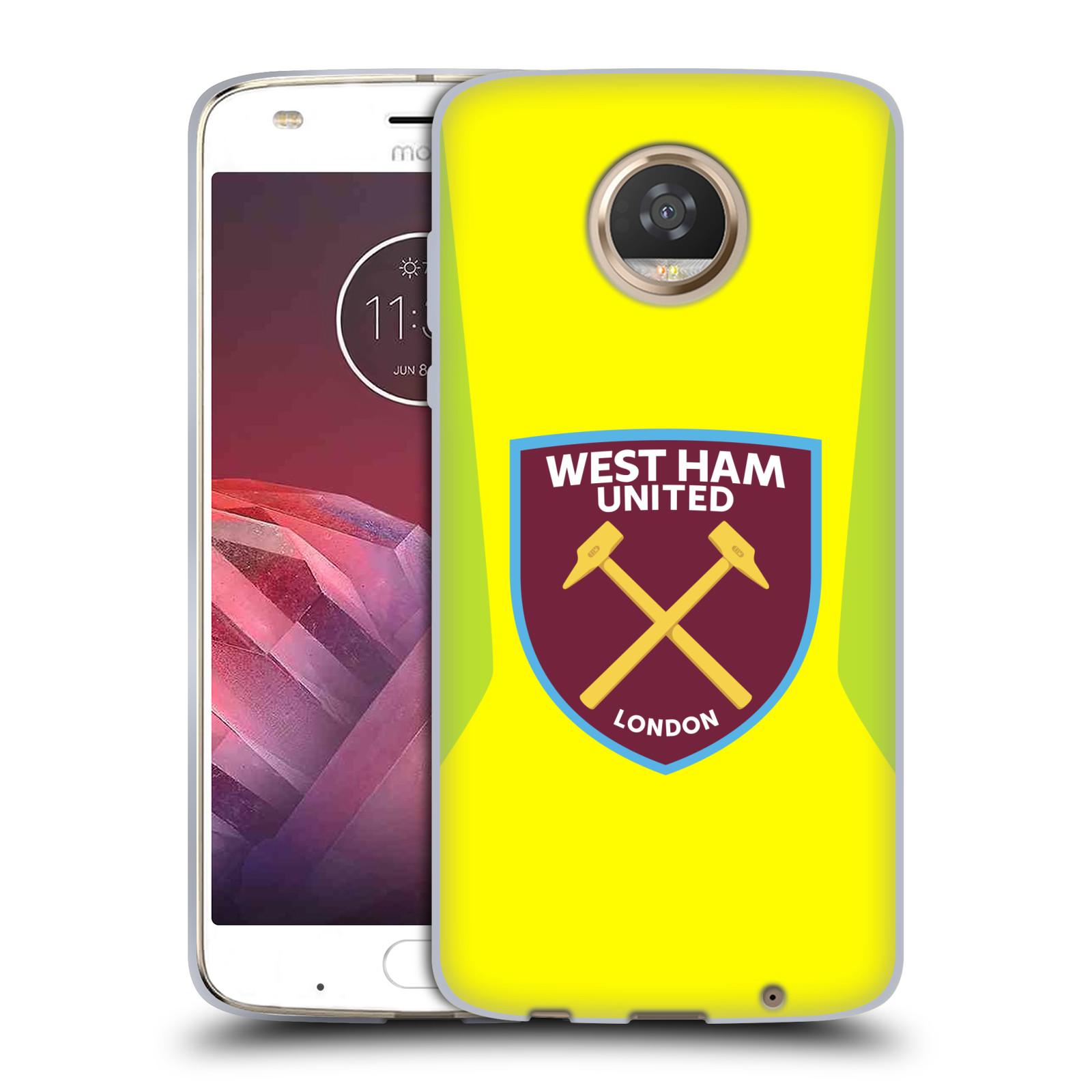 Oficial-West-Ham-United-FC-2017-18-Crest-Kit-Gel-Suave-Estuche-Para-Telefonos-MOTOROLA