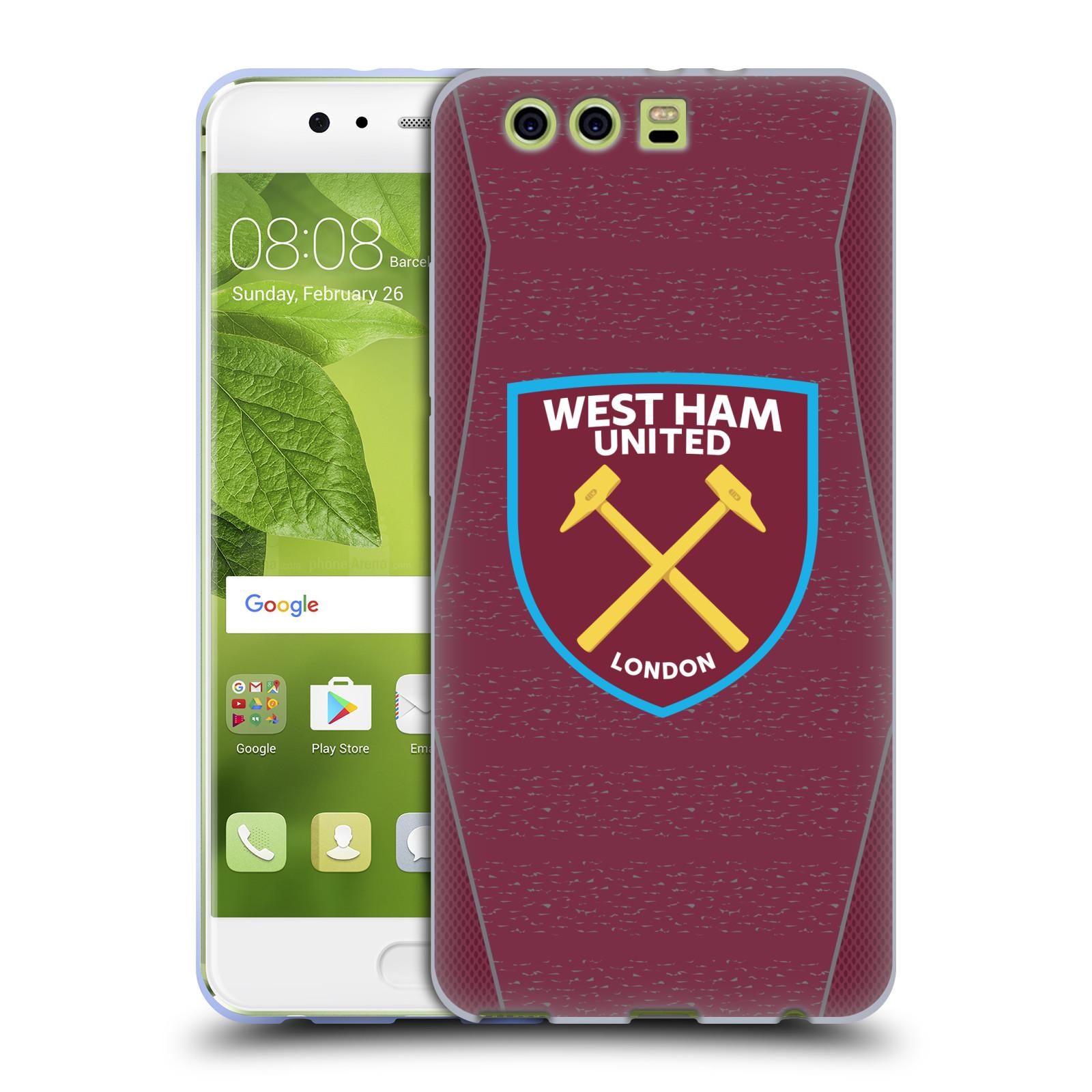 Oficial-West-Ham-United-FC-2018-19-Crest-Kit-Gel-Suave-Estuche-Para-Telefonos-HUAWEI