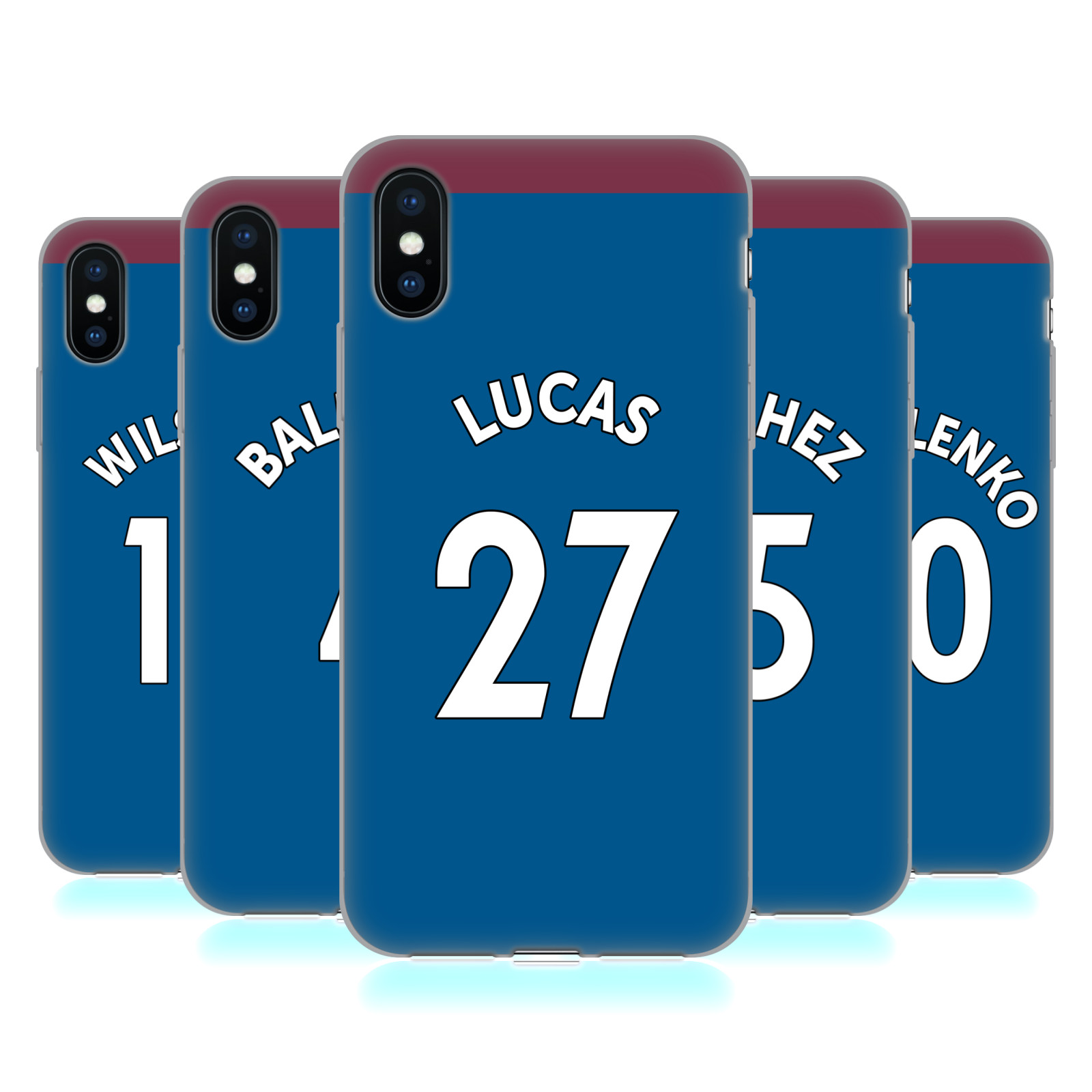 West Ham United FC 2018/19 Players Away Kit Group 2