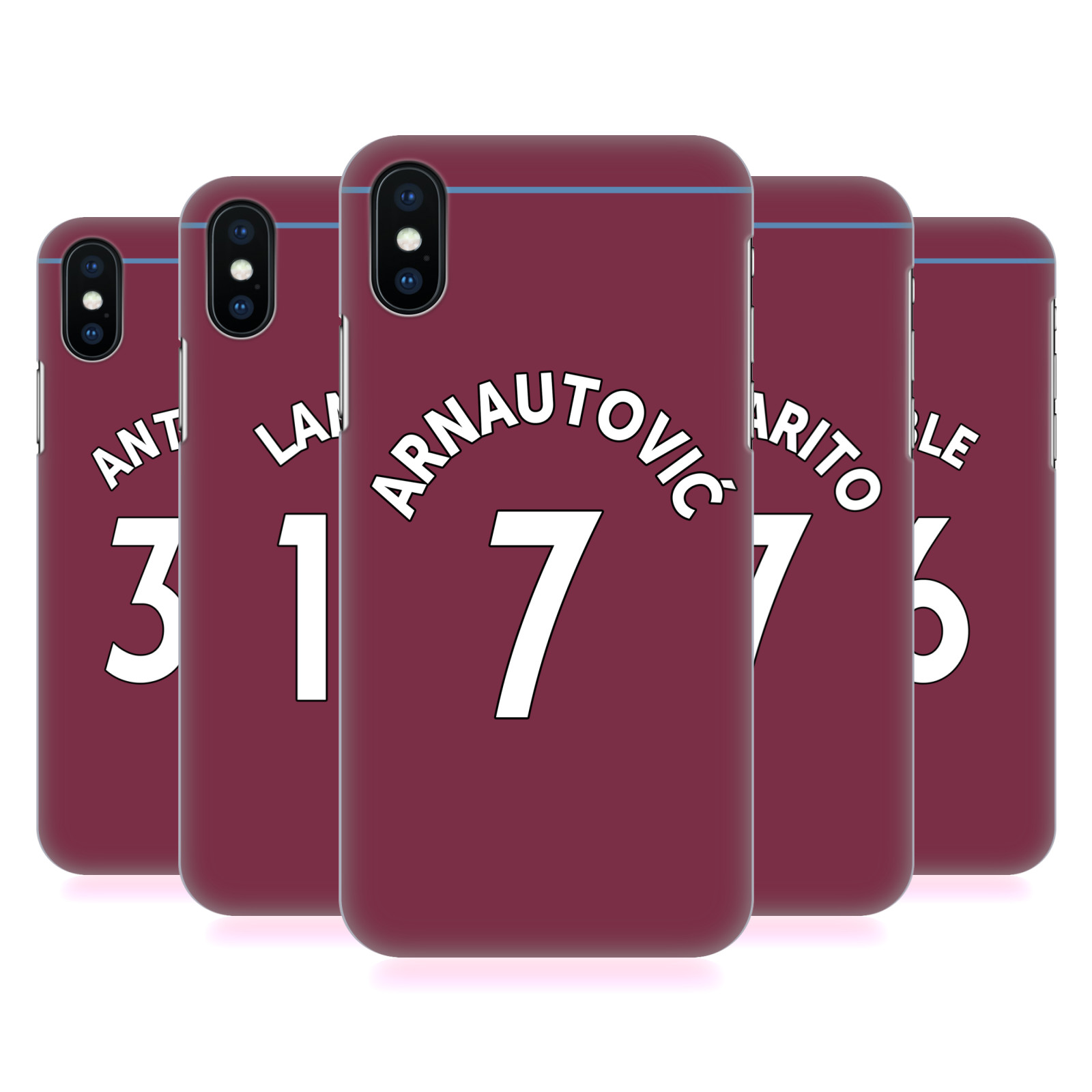 West Ham United FC 2018/19 Players Home Kit Group 1