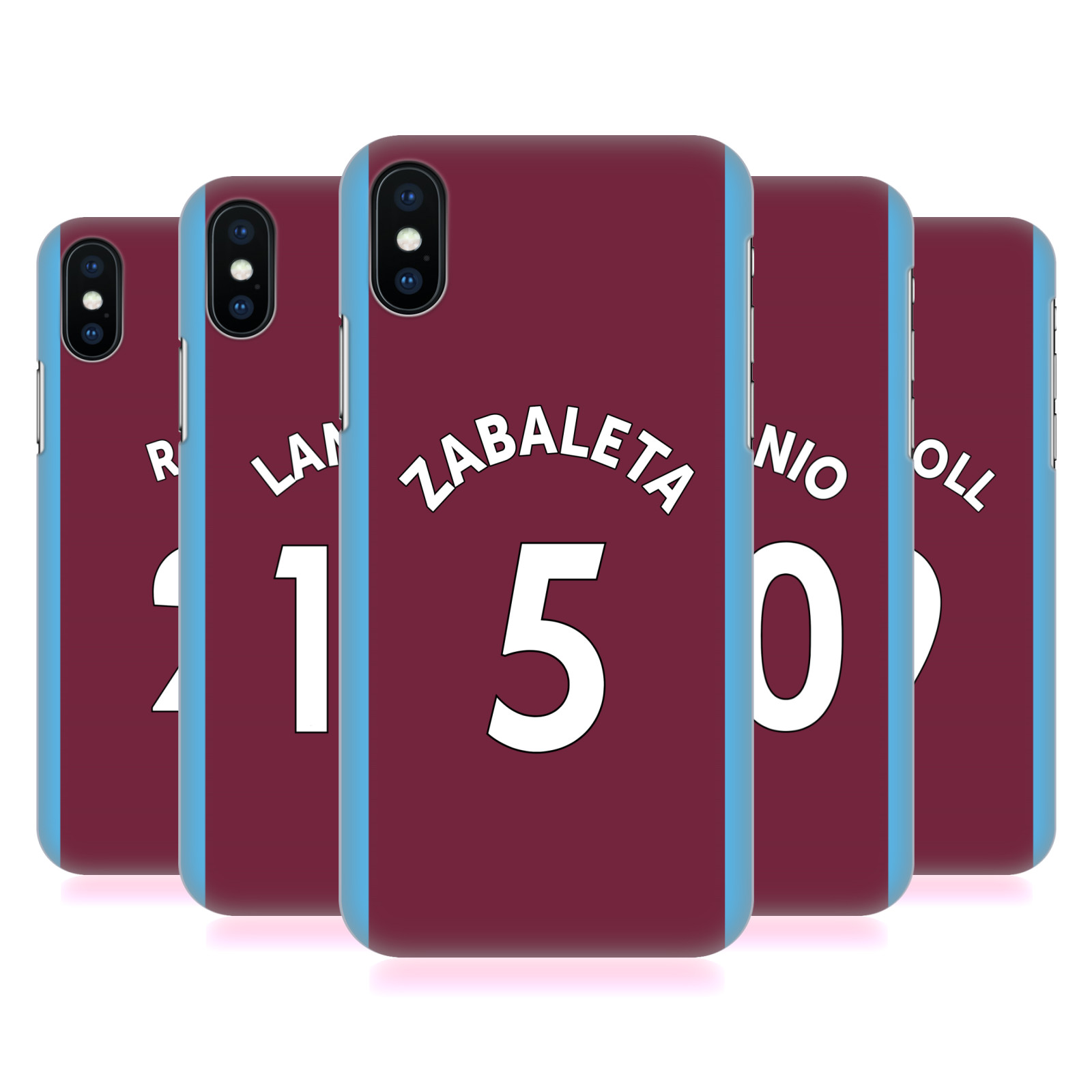 West Ham United FC 2017/18 Players Home Kit Group 1