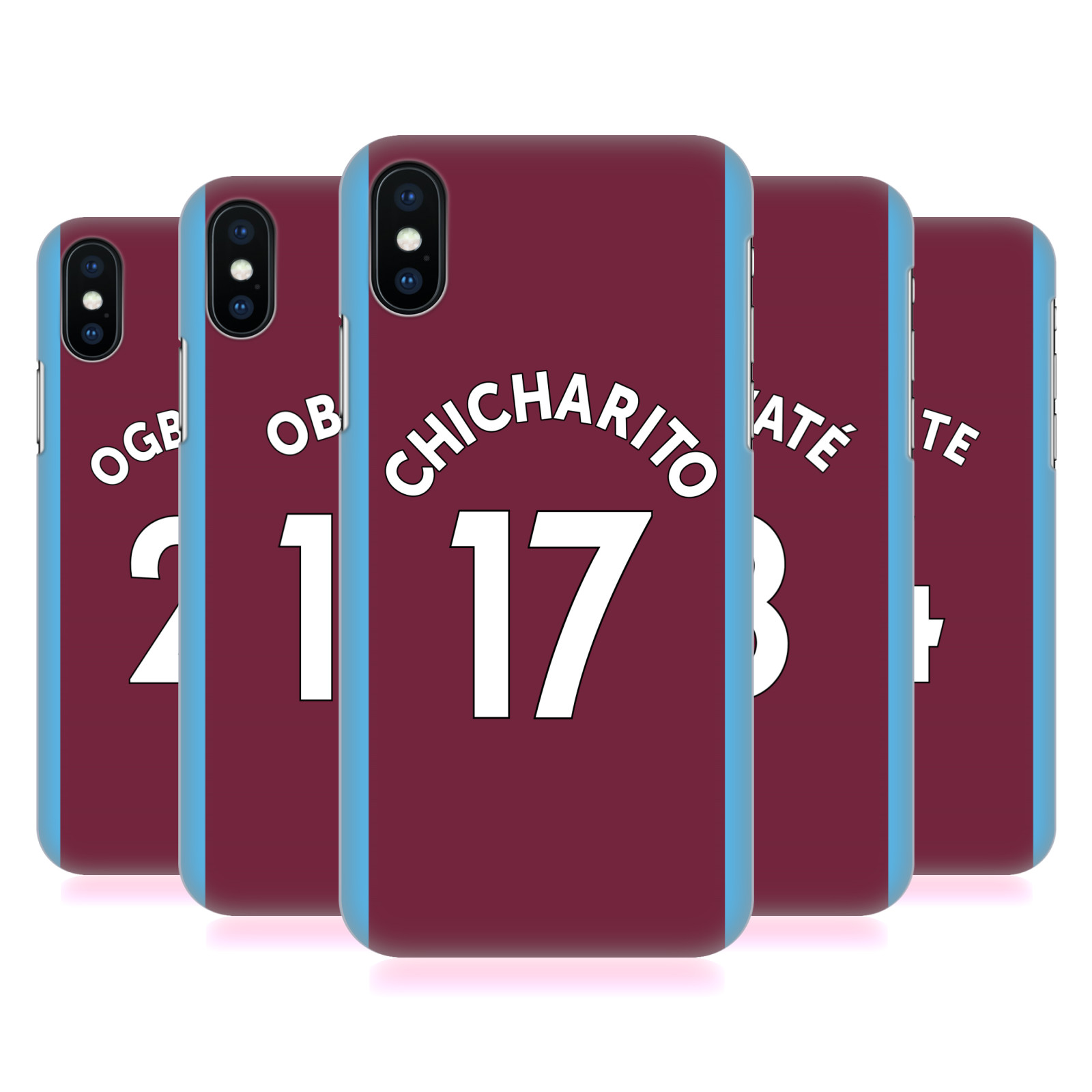 West Ham United FC 2017/18 Players Home Kit Group 2