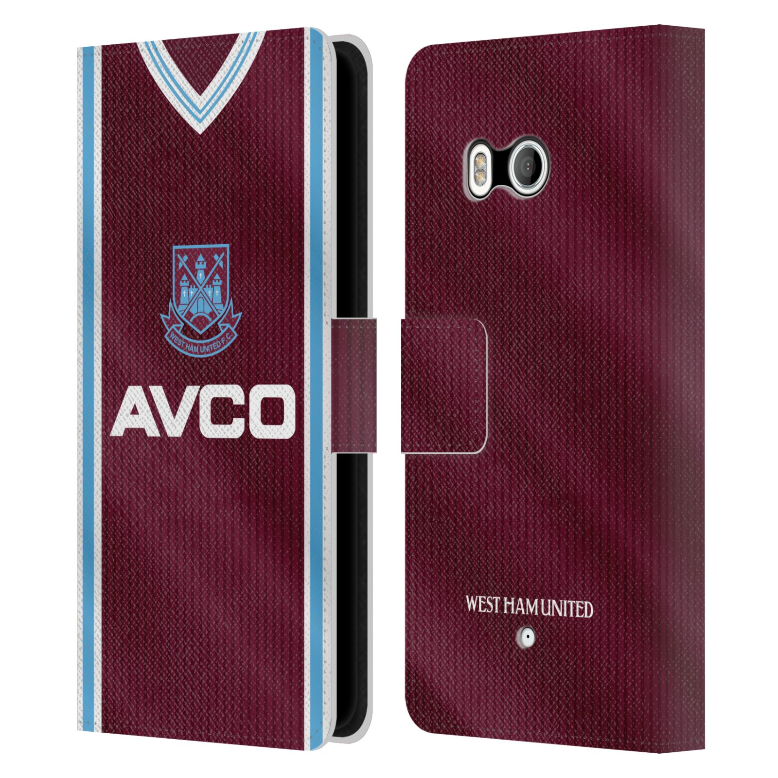 OFFICIAL-WEST-HAM-UNITED-FC-RETRO-KITS-LEATHER-BOOK-WALLET-CASE-FOR-HTC-PHONES-1