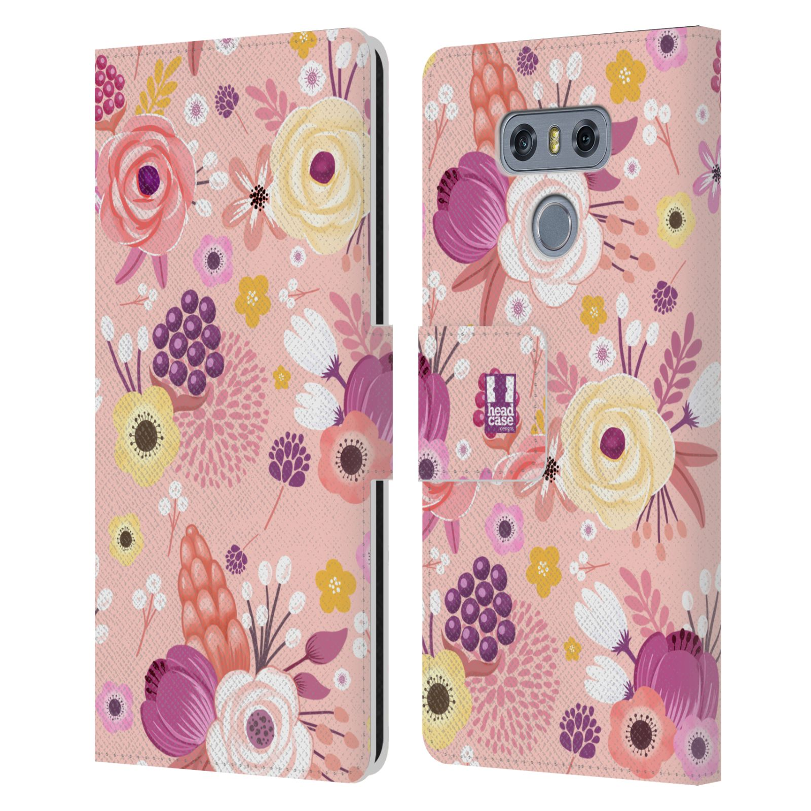 HEAD-CASE-DESIGNS-WHIMSICAL-FLOWERS-LEATHER-BOOK-WALLET-CASE-COVER-FOR-LG-G6