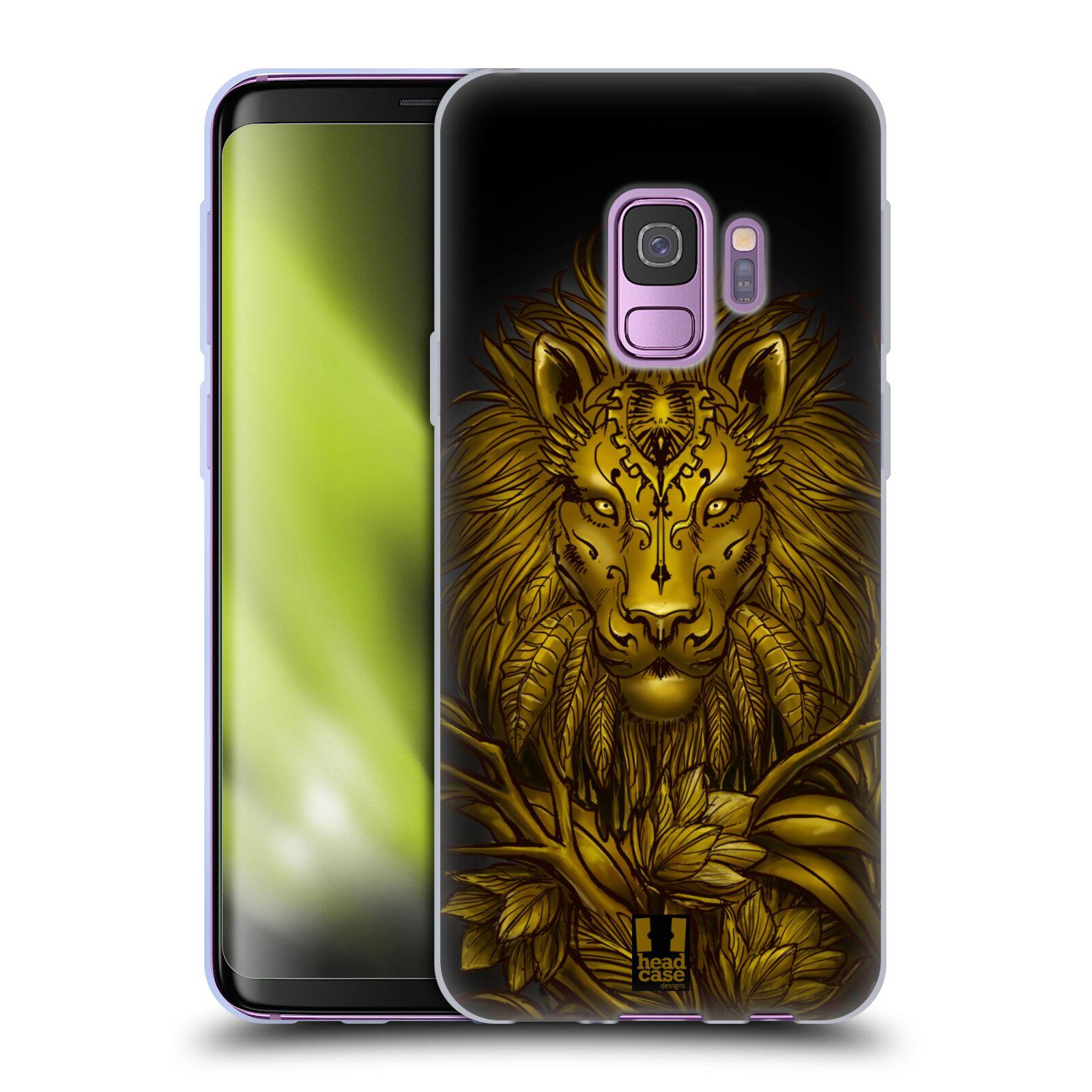 Funda-HEAD-CASE-DESIGNS-con-animales-salvajes-Gel-Suave-Para-Telefonos-Samsung-1