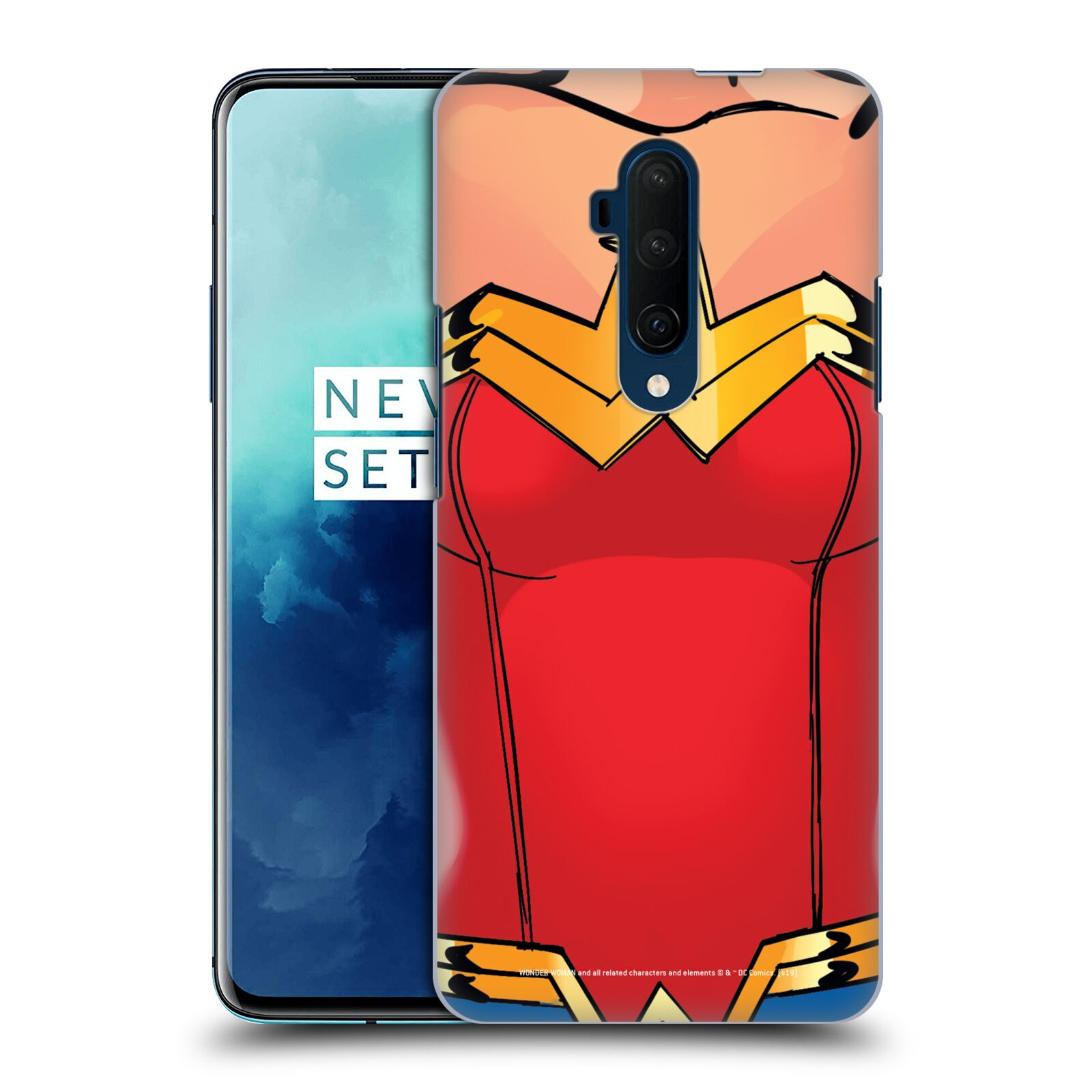 Official Wonder Woman DC Comics Logos Costume Case for OnePlus 7T Pro