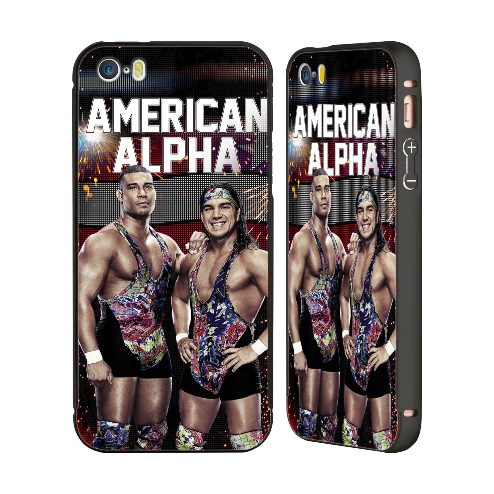 OFFICIAL-WWE-AMERICAN-ALPHA-BLACK-BUMPER-SLIDER-CASE-FOR-APPLE-iPHONE-PHONES