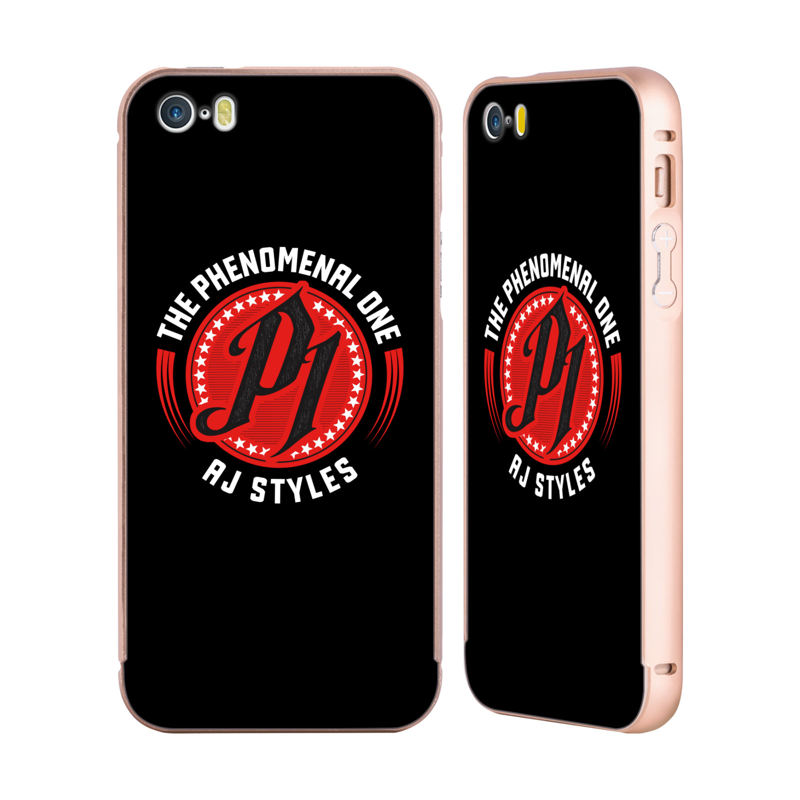 UFFICIALE-WWE-2017-AJ-STYLES-ORO-COVER-CONTORNO-PER-APPLE-iPHONE-TELEFONI